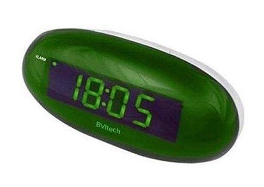 Проекционные часы BVItech BV-151GWLЧасы без проекции<br>BV-151GWL от бренда BVItech   это новая модель настольных часов с будильником. Устройство имеет достаточно большой дисплей с зеленым индикатором времени. Может работать как от бытовой сети (200-240В), так и от батареек типа 6LR61 9В. Выполнена модель в лаконичном компактном дизайне, который будет гармонично смотреться как в интерьере модерна, так и классики.<br>Основные преимущества использования рассматриваемой модели настольных электронных часов от торговой марки BVItech:<br><br>Невероятно стильный современный внешний облик, компактные размеры.<br>Часы/будильник.<br>Функция отложенного будильника  Snooze .<br>Цвет свечения индикатора   зеленый.<br>Размер цифр индикатора: 23 мм (0,9 ).<br>Номинальное напряжение питания: АС: 200-240В - 50/60 Hz.<br>Резервные батареи (не входят в комплект).<br>Сетевой адаптер.<br>Высокое качество и комфорт в управлении.<br><br>Пожалуй, часы   это неотъемлемая часть интерьера абсолютно каждого дома или офиса. Торговая марка BVItech представила обновленную серию сетевых настольных часов с функцией будильника, где каждый сможет подобрать прибор себе по душе. Широкий ассортимент моделей располагает приборами различной формы, дизайна, а также разнообразным цветовым вариантом свечения элементов дисплея.  Все модели серии работают от стандартной сети электричества. Также, для некоторых устройств, в качестве резервного источника питания могут быть использованы батарейки.<br><br>Страна: Китай<br>Питание, В: 220 В<br>Тип батарейки: None<br>Колво батареек: None<br>Адаптер к 220В: Есть<br>С будильником: Да<br>Радиодатчик: None<br>С метеостанцией: None<br>В помещении t, С: Нет<br>За окном t, С: Нет<br>Влажность в помещении: Нет<br>Влажность за окном: Нет<br>Давление: Нет<br>Прогноз погоды: Нет<br>Габариты, мм: 65х64х150<br>Вес, кг: 1<br>Гарантия: 1 год<br>Ширина мм: 64<br>Высота мм: 65<br>Глубина мм: 150
