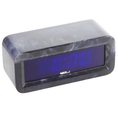 Часы без проекции BVItech BV-18BBMЧасы без проекции<br>BV-18BBM   это еще одна новая модель настольных часов от фирмы BVItech. Большой цифровой дисплей имеет синюю подсветку; будильник оснащен функцией  Snooze , которая понравится любителям подольше понежиться в кровати. Особого внимания заслуживает внешний облик гаджета: его корпус выполнен из красивого темного мрамора, а строгая геометрия формы смягчена скругленными углами. Такой аксессуар станет стильным дополнением любого интерьера.<br>Основные преимущества использования рассматриваемой модели настольных электронных часов от торговой марки BVItech:<br><br>Невероятно стильный современный внешний облик, компактные размеры.<br>Новинка сезона! <br>Корпус изготовлен из мрамора высокого качества.<br>Автоматическая регулировка яркости.<br>Функция будильника  Snooze .<br>Размер цифр индикатора: 23 мм(0,9 ).<br>Номинальное напряжение питания: АС: 200-240В - 50/60 Hz.<br>Сетевой адаптер.<br>Высокое качество и комфорт в управлении.<br><br>Пожалуй, часы   это неотъемлемая часть интерьера абсолютно каждого дома или офиса. Торговая марка BVItech представила обновленную серию сетевых настольных часов с функцией будильника, где каждый сможет подобрать прибор себе по душе. Широкий ассортимент моделей располагает приборами различной формы, дизайна, а также разнообразным цветовым вариантом свечения элементов дисплея.  Все модели серии работают от стандартной сети электричества. Также, для некоторых устройств, в качестве резервного источника питания могут быть использованы батарейки.<br><br>Страна: Китай<br>Питание, В: Сеть/Бат.<br>Тип батарейки: КРОНА<br>Колво батареек: 1<br>Адаптер к 220В: Есть<br>С будильником: Да<br>Радиодатчик: None<br>С метеостанцией: None<br>В помещении t, С: Нет<br>За окном t, С: Нет<br>Влажность в помещении: Нет<br>Влажность за окном: Нет<br>Давление: Нет<br>Прогноз погоды: Нет<br>Габариты, мм: None<br>Вес, кг: 1<br>Гарантия: 1 год
