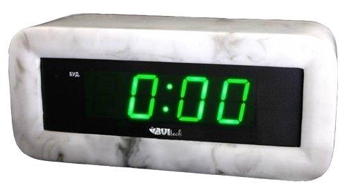 Часы без проекции BVItech BV-18GGMЧасы без проекции<br>Настольные часы в прочном и очень красивом мраморном корпусе BV-18GGM от компании BVItech понравятся ценителям качества, надежности и стиля. В арсенале достоинств представленного гаджета &amp;ndash; лаконичный, но безупречный дизайн; индикатор времени с приятной зеленой подсветкой; работа от обычной бытовой розетки; а также будильник с функцией отложенного сигнала.<br>Основные преимущества использования рассматриваемой модели настольных электронных часов от торговой марки BVItech:<br><br>Невероятно стильный современный внешний облик, компактные размеры.<br>Новинка сезона!&amp;nbsp;<br>Корпус изготовлен из мрамора высокого качества.<br>Автоматическая регулировка яркости.<br>Функция будильника &amp;laquo;Snooze&amp;raquo;.<br>Размер цифр индикатора: 23 мм(0,9&amp;rdquo;).<br>Номинальное напряжение питания: АС: 200-240В - 50/60 Hz.<br>Сетевой адаптер.<br>Высокое качество и комфорт в управлении.<br><br>Пожалуй, часы &amp;ndash; это неотъемлемая часть интерьера абсолютно каждого дома или офиса. Торговая марка BVItech представила обновленную серию сетевых настольных часов с функцией будильника, где каждый сможет подобрать прибор себе по душе. Широкий ассортимент моделей располагает приборами различной формы, дизайна, а также разнообразным цветовым вариантом свечения элементов дисплея.&amp;nbsp; Все модели серии работают от стандартной сети электричества. Также, для некоторых устройств, в качестве резервного источника питания могут быть использованы батарейки.<br><br>Страна: Китай<br>Питание, В: Сеть/Бат.<br>Тип батарейки: КРОНА<br>Колво батареек: 1<br>Адаптер к 220В: Есть<br>С будильником: Да<br>Радиодатчик: None<br>С метеостанцией: None<br>В помещении t, С: Нет<br>За окном t, С: Нет<br>Влажность в помещении: Нет<br>Влажность за окном: Нет<br>Давление: Нет<br>Прогноз погоды: Нет<br>Габариты, мм: None<br>Вес, кг: 1<br>Гарантия: 1 год
