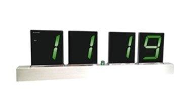 Часы без проекции BVItech BV-19GMxЧасы без проекции<br>Бренд BVItech представляет настольные часы BV-19GMx, которые, несомненно, понравятся ценителям оригинальных гаджетов и необычных форм. Выполнена представленная модель в алюминиевом корпусе, оснащена будильником, светодиодным зеленым индикатором времени, а управляется с помощью дистанционного инфракрасного пульта. Пользователь может расположить аксессуар в любом месте и настраивать его одним движением руки.<br>Основные преимущества использования рассматриваемой модели настольных электронных часов от торговой марки BVItech:<br><br>Невероятно стильный современный внешний облик, компактные размеры.<br>Часы/будильник.<br>Корпус из однонаправленного матированного алюминия /сатин, 4 (102 мм).<br>Светодиодный индикатор, цвет свечения &amp;ndash; зеленый.<br>Будильник с повторяющимся сигналом.<br>ИК пульт дистанционного управления.<br>Питание от сети АС: 200-240В /-50Гц через сетевой адаптер DC:12В/500мА.<br>Резервное питание 1.5Вх4шт./ААА.<br>Сетевой адаптер.<br>Высокое качество и комфорт в управлении.<br><br>Пожалуй, часы &amp;ndash; это неотъемлемая часть интерьера абсолютно каждого дома или офиса. Торговая марка BVItech представила обновленную серию сетевых настольных часов с функцией будильника, где каждый сможет подобрать прибор себе по душе. Широкий ассортимент моделей располагает приборами различной формы, дизайна, а также разнообразным цветовым вариантом свечения элементов дисплея.&amp;nbsp; Все модели серии работают от стандартной сети электричества. Также, для некоторых устройств, в качестве резервного источника питания могут быть использованы батарейки.<br><br>Страна: Китай<br>Питание, В: Сеть/Бат.<br>Тип батарейки: AAA<br>Колво батареек: 4<br>Адаптер к 220В: Есть<br>С будильником: Да<br>Радиодатчик: None<br>С метеостанцией: None<br>В помещении t, С: Нет<br>За окном t, С: Нет<br>Влажность в помещении: Нет<br>Влажность за окном: Нет<br>Давление: Нет<br>Прогноз погоды: Нет<br>Габариты, мм: 540x190x50<br>Вес, кг