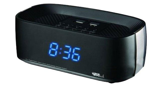 Часы без проекции BVItech BV-231BKUЧасы без проекции<br>Подбираете настольные часы? Любите современные технологии? Наш интернет-магазин рад предложить именно вам настольные часы BV-231BKU. Это новинка от компании BVItech, оснащенная широким функционалом. Например, устройство имеет два порта для подключения USB-флеш-накопителей, а также широкополосные динамики для проигрывания мелодий. Отличаются гибкостью настойки яркости подсветки и громкости звука.<br>Основные преимущества использования рассматриваемой модели настольных электронных часов от торговой марки BVItech:<br><br>Невероятно стильный облик, компактные размеры.<br>Функция радиобудильника.<br>Удобочитаемые часы (23 мм цифры).<br>Регулировка яркости дисплея.<br>30 уровней регулировки звуковой мощности.<br>Высококачественные стереодинамики.<br>2 встроенных USB порта.<br>Линейный вход для подключения наушников.<br>Подставка для телефона или мини планшета.<br>Таймер отключения.<br>Высокое качество и комфорт в управлении.<br><br>Предлагаем вашему вниманию серию уникальных новинок от компании BVItech &amp;ndash; настольные электронные часы нового поколения. Все модели отличаются максимальным удобством в использовании. Помимо функции часов, такие устройства оснащены функцией будильника. Некоторые модели способны послужить в качестве светильника, а несколько устройств поддерживают функцию радио, могут работать в качестве радиоприемника, и даже оснащены линейным выходом и портом USB. Абсолютно все модели выполнены в стильном современном дизайне. &amp;nbsp;Для работы в ночное время суток реализована возможность регулировки яркости.<br><br>Страна: Китай<br>Питание, В: Сеть/Бат.<br>Тип батарейки: ААА<br>Колво батареек: 2<br>Адаптер к 220В: Есть<br>С будильником: Да<br>Радиодатчик: Да<br>С метеостанцией: None<br>В помещении t, С: Нет<br>За окном t, С: Нет<br>Влажность в помещении: Нет<br>Влажность за окном: Нет<br>Давление: Нет<br>Прогноз погоды: Нет<br>Габариты, мм: 195x95x80<br>Вес, кг: 1<br>Гарантия: 1 год<br>Ширина мм