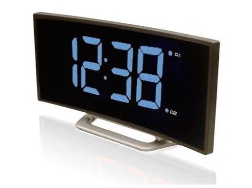 Часы без проекции BVItech BV-412BЧасы без проекции<br>Настольные электронные часы BVItech (Бивитек) BV-412B   это не только очень полезное в доме устройство, но и стильный аксессуар, обладающий определенным шармом. Данный прибор имеет изящный дизайн, выраженный в плавно изогнутой рамке вокруг черного дисплея, на котором отображаются синим цветом цифры (яркость свечения можно регулировать). Предусмотрены два будильника.<br>Основные преимущества использования рассматриваемой модели настольных электронных часов от торговой марки BVItech:<br><br>Невероятно стильный современный внешний облик, компактные размеры.<br>Новинка сезона!<br>Часы - будильник  электронные.<br>Регулировка яркости свечения.<br>2 будильника с отложенным сигналом.<br>Высота цифр - 47 мм.<br>Повтор будильника от 5 до 60 мин.<br>Резервное питание CR2032.<br>Сетевой адаптер.<br>Высокое качество и комфорт в управлении.<br><br>Пожалуй, часы   это неотъемлемая часть интерьера абсолютно каждого дома или офиса. Торговая марка BVItech представила обновленную серию сетевых настольных часов с функцией будильника, где каждый сможет подобрать прибор себе по душе. Широкий ассортимент моделей располагает приборами различной формы, дизайна, а также разнообразным цветовым вариантом свечения элементов дисплея.  Все модели серии работают от стандартной сети электричества. Также, для некоторых устройств, в качестве резервного источника питания могут быть использованы батарейки.<br><br>Страна: Китай<br>Питание, В: Сеть/Бат.<br>Тип батарейки: CR2032<br>Колво батареек: 1<br>Адаптер к 220В: Есть<br>С будильником: Да<br>Радиодатчик: Нет<br>С метеостанцией: Нет<br>В помещении t, С: Нет<br>За окном t, С: Нет<br>Влажность в помещении: Нет<br>Влажность за окном: Нет<br>Давление: Нет<br>Прогноз погоды: Нет<br>Габариты, мм: 170x87x40<br>Вес, кг: 1<br>Гарантия: 1 год<br>Ширина мм: 87<br>Высота мм: 170<br>Глубина мм: 40