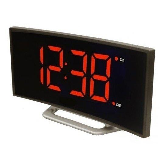 Проекционные часы BVItech BV-412RЧасы без проекции<br>BVItech BV-412R   это современные и оригинальные цифровые часы настольного типа с очень тонким корпусом, прочной конструкцией и стильным внешним исполнением. Для комфорта пользователей установлен регулятор яркости подсветки дисплея, а также встроен удобный будильник. Предусмотрено два варианта питания: от сети электричества и от батарейки CR2032.<br>Основные преимущества использования рассматриваемой модели настольных электронных часов от торговой марки BVItech:<br><br>Будильник с функцией Snooze (повтор сигнала от 5 до 60 минут).<br>Данная модель работает от сети 220В.<br>Регулировка яркости дисплея.<br>Цвет индикации - красный.<br>Корпус выполнен из пластика.<br>Размер часов : 17х8,7х4 см.<br>Высота цифр 4,7 см.<br>Электронные настольные часы BVItech BV-412R<br>Комплектация: Часы, инструкция на русском языке, упаковка.<br><br>Пожалуй, часы   это неотъемлемая часть интерьера абсолютно каждого дома или офиса. Торговая марка BVItech представила обновленную серию сетевых настольных часов с функцией будильника, где каждый сможет подобрать прибор себе по душе. Широкий ассортимент моделей располагает приборами различной формы, дизайна, а также разнообразным цветовым вариантом свечения элементов дисплея.  Все модели серии работают от стандартной сети электричества. Также, для некоторых устройств, в качестве резервного источника питания могут быть использованы батарейки.<br> <br><br>Страна: Китай<br>Питание, В: 220 В<br>Тип батарейки: None<br>Колво батареек: None<br>Адаптер к 220В: Есть<br>С будильником: Да<br>Радиодатчик: Нет<br>С метеостанцией: Нет<br>В помещении t, С: Нет<br>За окном t, С: Нет<br>Влажность в помещении: Нет<br>Влажность за окном: Нет<br>Давление: Нет<br>Прогноз погоды: Нет<br>Габариты, мм: 17х8,7х4<br>Вес, кг: 1<br>Гарантия: 1 год<br>Ширина мм: 8.7<br>Высота мм: 17<br>Глубина мм: 4