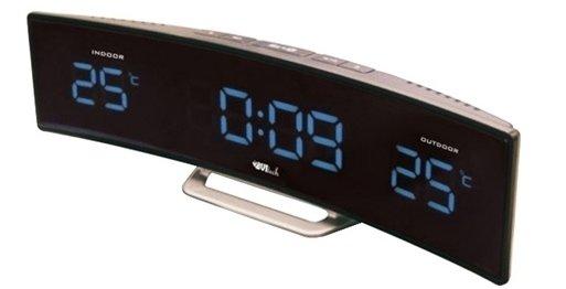 Часы без проекции BVItech BV-415BKSЧасы без проекции<br>BV-415BKS &amp;ndash; это новинка от торговой марки BVItech. Гаджет представляет собой компактную метеостанцию, которая помимо стильного дизайна имеет и функциональные достоинства. Прибор оснащен индикатором точного времени, термометром и выносным датчиком температуры, а также двумя будильниками. Любителям понежиться с утра в кровати понравится функция &amp;laquo;Snooze&amp;raquo;, которая позволяет несколько раз отложить сигнал будильника.<br>Основные преимущества использования рассматриваемой модели погодной метеостанции от торговой марки BVItech:<br><br>Стильный эргономичный дизайн.<br>Компактные размеры конструкции.<br>Новинка сезона!<br>Многофункциональное устройство.<br>Часы, будильник с функцией &amp;laquo;Snooze&amp;raquo;.<br>Обычный будильник.<br>Термометр, внутренняя и внешняя температура.<br>Внешний датчик для температуры.<br>Высота цифр на дисплее 23 мм (0,9&amp;rdquo;).<br>Светодиодный дисплей, синее свечение.<br>Беспроводной датчик с проводным сенсором.<br>Сетевой адаптер АС 220В Резервные батареи: CR2032.<br>Высокое качество и комфорт в управлении.<br><br>Вы хотите иметь собственный барометр и быть в курсе погодных условий? Тогда вам, несомненно, стоит присмотреться к домашним метеостанциям от торговой марки BVItech. В представленной серии приборов есть модели, которые показывают температуру воздуха внутри помещения и за окном, а есть и такие, которые способны предсказать прогноз погоды при помощи встроенного гигрометра и даже текущую фазу луны. Кроме того, некоторые модели семейства с легкостью заменят вам ночной светильник. Разнообразие дизайнерских решений также порадует каждого пользователя.&amp;nbsp;<br><br>Страна: Китай<br>Питание, В: Сеть/Бат.<br>Тип батарейки: CR2032<br>Колво батареек: 1<br>Адаптер к 220В: Есть<br>С будильником: Да<br>Радиодатчик: None<br>С метеостанцией: Да<br>В помещении t, С: Да<br>За окном t, С: Да<br>Влажность в помещении: Нет<br>Влажность за окном: Нет<br>Давление:
