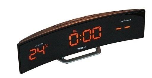 Часы без проекции BVItech BV-415YKSЧасы без проекции<br>Настольная компактная метеостанция BV-415YKS от известного бренда BVItech оснащена широким дисплеем с яркой красной светодиодной подсветкой. Гаджет имеет выносной датчик температуры, а также комнатный термометр; оснащен индикатором точного времени и двумя будильниками. Представленное устройство может работать как от бытовой электросети, так и от батареек типа CR2032.<br>Основные преимущества использования рассматриваемой модели погодной метеостанции от торговой марки BVItech:<br><br>Стильный эргономичный дизайн.<br>Компактные размеры конструкции.<br>Новинка сезона!<br>Многофункциональное устройство.<br>Часы, будильник с функцией &amp;laquo;Snooze&amp;raquo;.<br>Обычный будильник.<br>Термометр, внутренняя и внешняя температура.<br>Внешний датчик для температуры.<br>Высота цифр на дисплее 23 мм (0,9&amp;rdquo;).<br>Светодиодный дисплей, оранжевое свечение.<br>Беспроводной датчик с проводным сенсором.<br>Сетевой адаптер АС 220В Резервные батареи: CR2032.<br>Высокое качество и комфорт в управлении.<br><br>Вы хотите иметь собственный барометр и быть в курсе погодных условий? Тогда вам, несомненно, стоит присмотреться к домашним метеостанциям от торговой марки BVItech. В представленной серии приборов есть модели, которые показывают температуру воздуха внутри помещения и за окном, а есть и такие, которые способны предсказать прогноз погоды при помощи встроенного гигрометра и даже текущую фазу луны. Кроме того, некоторые модели семейства с легкостью заменят вам ночной светильник. Разнообразие дизайнерских решений также порадует каждого пользователя.&amp;nbsp;<br><br>Страна: Китай<br>Питание, В: Сеть/Бат.<br>Тип батарейки: CR2032<br>Колво батареек: 1<br>Адаптер к 220В: Есть<br>С будильником: Да<br>Радиодатчик: None<br>С метеостанцией: Да<br>В помещении t, С: Да<br>За окном t, С: Да<br>Влажность в помещении: Нет<br>Влажность за окном: Нет<br>Давление: Нет<br>Прогноз погоды: Нет<br>Габариты, мм: 285х55х66<br>Вес, кг: 1<br