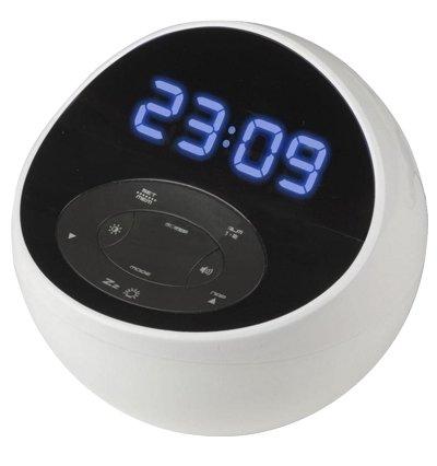 Часы без проекции BVItech BV-48BWKЧасы без проекции<br>Настольные часы BV-48BWK от бренда BVItech представляют собой современное функциональное устройство. Приобретая данный гаджет, пользователь получит не только часы, но еще и радио, и светильник.&amp;nbsp; Представленная модель оснащена цифровым индикатором, имеет два будильника и может проигрывать музыку с внешнего аудио носителя. В комплект поставки помимо самого устройства входят три резервные микропальчиковые батарейки, а также сетевой адаптер.<br>Основные преимущества использования рассматриваемой модели настольных электронных часов от торговой марки BVItech:<br><br>Невероятно стильный облик, компактные размеры.<br>Декоративный светильник с функцией включения радио и светильника Wake-by-Radio.<br>Цифровой радиоприемник.<br>Часы 0,7(18 мм).<br>Цифровой индикатор.<br>2 будильника с повторяющимся&amp;nbsp; сигналом.<br>Звуки природы: щебетанье птиц, лесной шум, морской бриз, весенний дождь.<br>Возможность подключения внешнего аудио источника.<br>Резервные батареи 1,5Вх3 шт./тип ААА.<br>Сетевой адаптер.<br>Высокое качество и комфорт в управлении.<br><br>Предлагаем вашему вниманию серию уникальных новинок от компании BVItech &amp;ndash; настольные электронные часы нового поколения. Все модели отличаются максимальным удобством в использовании. Помимо функции часов, такие устройства оснащены функцией будильника. Некоторые модели способны послужить в качестве светильника, а несколько устройств поддерживают функцию радио, могут работать в качестве радиоприемника, и даже оснащены линейным выходом и портом USB. Абсолютно все модели выполнены в стильном современном дизайне.&amp;nbsp; Для работы в ночное время суток реализована возможность регулировки яркости.<br><br>Страна: Китай<br>Питание, В: Сеть/Бат.<br>Тип батарейки: AAA<br>Колво батареек: 3<br>Адаптер к 220В: Есть<br>С будильником: Да<br>Радиодатчик: Да<br>С метеостанцией: None<br>В помещении t, С: Нет<br>За окном t, С: Нет<br>Влажность в помещении: Нет<br>Влажност