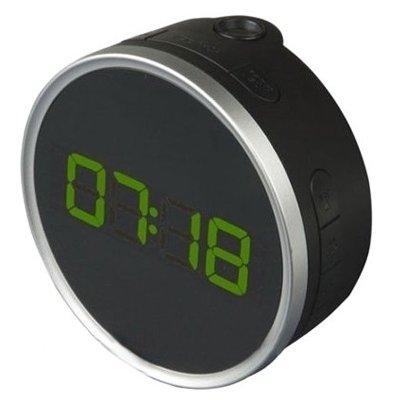 Проекционные часы BVItech BV-499GPLКрасная проекция<br>Настольные часы BV-499GPL от торговой марки BVItech не просто показывают точное время и оснащены возможностью проецировать изображение на потолок или стену. Часы настольные с проекцией часы BV-499GPL &amp;nbsp;оснащены будильником с отложенным сигналом и радиоприемником FM-диапазона и возможностью сохранения до десяти станций. Также пользователь может отрегулировать громкость звука и яркость подсветки исходят их своих предпочтений.<br><br>Страна: Китай<br>Питание, В: Сеть/Бат.<br>Тип батарейки: СR2032<br>Колво батареек: 1<br>Адаптер к 220В: Есть<br>С будильником: Да<br>Радиодатчик: Да<br>С метеостанцией: None<br>В помещении t, С: Нет<br>За окном t, С: Нет<br>Влажность в помещении: Нет<br>Влажность за окном: Нет<br>Давление: Нет<br>Прогноз погоды: Нет<br>Габариты, мм: 110х110х55<br>Вес, кг: 1<br>Гарантия: 1 год<br>Ширина мм: 110<br>Высота мм: 110<br>Глубина мм: 55
