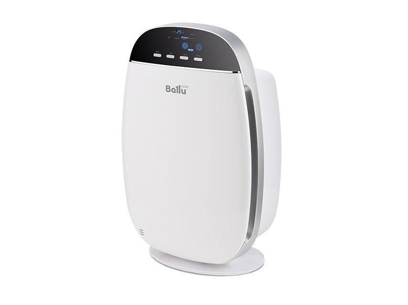 Очиститель воздуха Ballu AP-150Cо сменными фильтрами<br>Загрязнение воздуха в помещении вредными химическими элементами, вирусами и грибками может пагубно влиять на благополучие и здоровье человека; чтобы очистить воздух необходимо использовать специальный бытовой очиститель Ballu (Баллу) AP-150. Он имеет широкий спектр применения и может очистить воздух для помещений площадью двадцать квадратных метров.<br>Особенности и преимущества очистителя воздуха Ballu представленной модели:<br><br>Стильный, современный внешний вид.<br>Качественный угольный фильтр с цеолитом.<br>HEPA фильтр.<br>Пять ступеней очистки воздуха.<br>Три ступени мощности.<br>Ультрафиолетовая лампа.<br>Качественное устранение неприятных запахов.<br>Автоматическая регулировка влажности воздуха.<br>Отображение заданных параметров на дисплее.<br>Pre-Carbon фильтр.<br>Ионизация воздуха.<br>Эффективное устранение бактерий и плесени.<br>Высокий уровень безопасности.<br>Оснащенность высокоточными датчиками.<br>Качественная сборка.<br>Низкий уровень шума.<br>Ночной режим.<br>Небольшой расход электроэнергии.<br>Учет срока эксплуатации фильтров.<br>Высокое качество, гарантированное заводом-изготовителем.<br><br><br>Очистители воздуха от торговой марки Ballu   это современные приборы с широким функционалом, работа которых направлена на устранения разного рода загрязнений. Очистители оснащены многоступенчатой системой фильтрации, от предварительного фильтра грубой очистки от больших частиц пыли, до тонкого фильтра, который задерживает самые мельчайшие загрязняющие примеси. В сочетании с интегрированным таймером, стильным дизайном и эргономичной конструкцией все это выгодно выделяет приборы на фоне аналогов. <br><br>Страна: Китай<br>Производитель: Китай<br>Площадь, м?: 20<br>Воздухообмен мsup3;: 170<br>Колво режимов работы: 3<br>Сенсоры качества воздуха: Нет<br>Газоанализатор: Нет<br>Датчик пыли: Нет<br>Предварительный фильтр: Да<br>НЕРАфильтр: Да<br>Угольный фильтр: Да<br>Электростатичный фильтр: Нет<br>Плазменн