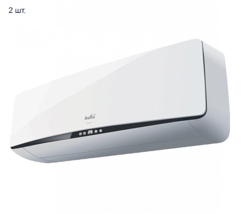 Мульти сплит система на 2 комнаты Ballu B2OI-FM 16H N1/BSEI-07H N1*2шт2 комнаты<br>B2OI-FM 16H N1/BSEI-07H N1*2шт от торговой марки Ballu &amp;ndash; это качественная и практичная модель мультизональной системы кондиционирования воздуха, оборудованная двумя внутренними блоками настенного типа. Стоит отметить, что стильный дизайн и невероятно простое и понятное каждому управление сделают эксплуатацию оборудования еще более комфортной. Так, функция &amp;laquo;I-Feel&amp;raquo; при помощи специального датчика, встроенного в ПДУ, поможет поддержать с максимальной точностью заданные параметры вблизи пользователя (пульт необходимо расположить рядом с собой).<br>Основные преимущества рассматриваемой модели мульти сплит системы от торговой марки Ballu:<br><br>Cтильный инновационный дизайн.<br>Эргономичный удобочитаемый дисплей.<br>Современная 2-компонентная система фильтрации Combo (Катехин/ Витамин С).<br>Прибор оборудован генератором холодной плазмы.<br>Функция I FEEL &amp;ndash; система климат-контроль.<br>Ночной режим работы SLEEP.<br>Интенсивный режим работы SUPER.<br>Пульт ДУ с режимом реального времени.<br>Функция TIMER включения/выключения кондиционера по времени.<br>Интеллектуальная разморозка внутреннего блока.<br>Возможность изменения стороны отвода дренажа.<br>В качестве опции можно заказать комплект для беспроводного управления по технологии Wi-Fi.<br><br>Серия мультизональных систем кондиционирования воздуха от известной торговой марки Ballu &amp;ndash; это готовые решения, которые помогут установить комфортный микроклимат в двух, трех и четырех помещениях одновременно. Это придется по вкусу не только обладателям коттеджей и многоквартирных домов, но и хозяевам офисных центров и торговых павильонов. Все приборы семейства отличаются высоким качеством материалов изготовления, для управления работой каждый внутренний блок комплектуется пультом ДУ. Стоит обратить внимание на то, что кондиционеры оснащены фильтрами очистки воздуха, что сделает воздух не только прия