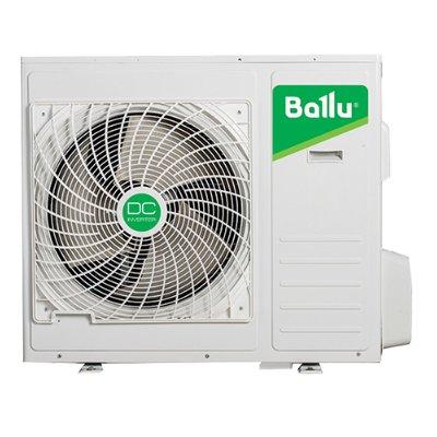 Внешний блок мульти сплит-системы Ballu B5OI-FM/out-42HN1/EU5 комнат<br>Наружный блок модели Ballu (Баллу) B5OI-FM/out-42HN1/EU идеально работает в системе вместе с внутренними блоками самых разных видах, что позволяет применять его для обслуживания производственных, коммерческих и жилых объектов. Особую эффективность рассматриваемого устройства обеспечивает установленный современный компрессор инверторного типа.<br>Особенности и преимущества инверторных мульти сплит-систем Ballu серии Super Free Match:<br><br> А  класс энергоэффективности<br>Свободная компоновка блоков разного типа<br>Возможность подключения до 4-внутренних блоков на выбор к одному внешнему блоку<br>Надежное охлаждение и обогрев до -15 C<br>Надежный японский компрессор<br>Комфорт и энергосбережение технологии DC Inverter<br>Электронный расширительный вентиль EEV для каждого внутреннего блока<br>Легкость монтажа<br>Увеличенная трасса до 60 м<br>Точное поддержание температуры - климат-контроль<br><br>Инверторные мульти сплит-системы Ballu серии Super Free Match   прекрасный выбор для комплексных решений. Сочетание передовых разработок, DC-инверторной технологии и оптимальных технических параметров делают семейство одним из самых привлекательных в своем сегменте. С мульти сплит-системами Ballu вы сможете обеспечить комфорт сразу в нескольких помещениях: например, в офисном здании и гостинице.<br><br>Охлаждение вн.блока,кВт: None<br>Страна: Китай<br>Обогрев вн.блока, кВт: None<br>Производитель: Китай<br>Площадь вн.блока, м?: None<br>Компрессор: Инвертор<br>Площадь, м?: 125<br>Уровень шума, дБа: 60<br>Горизонтальная регулировка потока: Нет<br>Режим работы: холод/тепло<br>Охлаждение,кВт: 12,5<br>Уровень шума, дБа: None<br>Габариты ВхШхГ, см: 95x105x34<br>Обогрев, кВт: 14,5<br>Габариты ВхШхГ, см: None<br>Потребление при охлаждении, кВт: 3,9<br>Потребление при обогреве, кВт: 4,0<br>Вес, кг: 82<br>Вес, кг: None<br>Охлаждающая способность, тыс btu: 42<br>Диапазон t на охлаждение, С: 15...+43<br>Диапазон t на