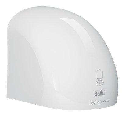 Пластиковая сушилка для рук Ballu BAHD-2000DMПластиковые<br>BAHD-2000DM от популярного бренда Ballu   это пластиковая сушилка для рук нового поколения. Автмоатическая сушка для рук оборудована уникальной системой подачи воздуха с идеальным углом обдува. Встроенный высокоточный инфракрасный сенсор автоматически активирует процесс подачи воздуха и его прекращение, как только в радиус действия устройства пользователь поднесет руки. Привлекательный внешний вид гарантирован на протяжении всего срока эксплуатации.  Для быстрой установки сушки комплектацией предусмотрен специальный монтажный шаблон.<br><br>Страна: Китай<br>Мощность, кВт: 2,0<br>Материал корпуса: Пластик<br>Поток воздуха м/с: 15<br>Степень защиты: IP 23<br>Цвет корпуса: Белый<br>Минимальный уровень шума, дБа: 60<br>Объем воздушного потока, м3/час: None<br>Средняя скорость высушивания, сек: 1020<br>Температура воздушного потока, С: None<br>Размеры, мм: 224х223х224<br>Вес, кг: 3<br>Гарантия: 1 год