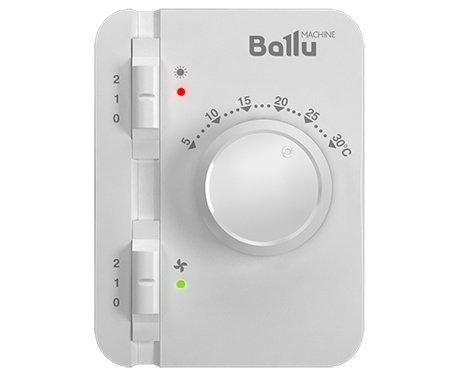 Электрическая тепловая завеса Ballu BHC-L15-S09 (BRC-E)9 кВт<br>Тепловая завеса Ballu (Баллу) BHC-L15-S09 (BRC-E)   это новика на рынке климатической техники, которая гарантирует плотный и равномерный мощный воздушный поток, способный ограничить потери тепла наружу  и попадание холода внутрь помещения или здания. Установка данного оборудования предусмотрена в оконных проемах и дверях высотой до двух с половиной метров.<br>Особенности и преимущества воздушных завес Ballu серии S2:<br><br>Инновационная система подавления шума  Silencegate ;<br>Эффективные амортизационные демпферы исключают жёсткий контакт вентиляционных узлов с корпусом и снижают уровень шума;<br>Расположение перфорации в верхней части корпуса завесы изменяет вектор распространение шума, направляя его в потолок, а не на проходящих людей;<br>Стич-элементы обеспечивают быстрый нагрев и высокую разницу температур;<br>Компактная форма корпуса делает завесу малозаметной в интерьере помещения;<br>Удобное и эстетичное подключение на клеммы внутри корпуса (модель на 3 кВт имеет сетевой шнур с вилкой);<br>Антикоррозийная обработка и прочное полимерное покрытие корпуса;<br>Встроенный термостат для защиты от перегрева;<br>Режим работы без нагрева для защиты летом от уличной жары, пыли и насекомых;<br>Две ступени мощности нагрева;<br>Диапазон установки температур +5 +30 С;<br>Точность термостата - 0,5 С;<br>Ток коммутации - 10 А;<br>Светодиодная индикация режимов работы;<br>Встроенная задержка выключения двигателей;<br>Возможность подключение нескольких завес к одному пульту;<br>Возможность подключения выносного датчика температуры и концевого выключателя.<br><br>Энергосберегающие воздушные завесы серии S2 от торговой марки Ballu предназначены для установки в дверных или же оконных проемах, высота которых не превышает 2,5 метров. Представлена серия завеса в корпусе белого и стального цвета, мощностью от 6,0 кВт до 9,0 кВт. Агрегаты укомплектованы пультом BRC-E, который сделает эксплуатацию максимально комфортной 