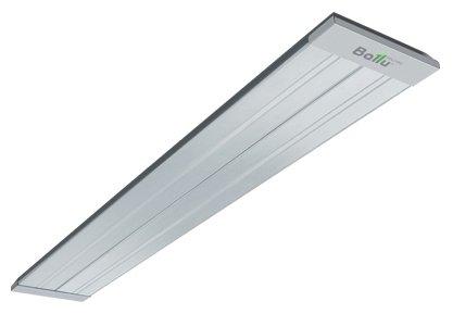 Инфракрасный обогреватель Ballu BIH-AP2-2.02 кВт<br>Одним из наиболее быстрых и здоровых способов обогрева помещения являются инфракрасные обогреватели. Ballu BIH-AP2-2.0 является представителем инфракрасных обогревателей, по своей конструкции предполагающий потолочный монтаж. Качественные лампы-излучатели, которыми оснащен этот прибор, обеспечивают продолжительный эксплуатационный период и высокую термоэффективность при их работе.<br>Основные характеристики модели:<br><br>Нагревает не воздух, а сразу поверхности<br>Обширная зона нагрева<br>Долговечные излучающие панели с анодированием 25<br>Экономичное энергопотребление<br>Возможно подключение к терморегулятору<br>Для монтажа в комплекте прилагается набор кронштейнов<br>Легкий монтаж<br>Может использоваться как основной, так и дополнительный источника обогрева<br>Боковые накладки из шлифованной нержавеющей стали<br>Особая форма корпуса создает иллюзию малой глубины прибора<br><br>Инфракрасный обогреватель компании Ballu серии BIH-AP2 предназначен для установки на потолке, поэтому он в принципе не может загромоздить пространство Вашей комнаты. Кроме того, в отличие от настенной установки, при установке на потолке излучателем прибора охватывается большая площадь помещения и тепло ощущается равномерно в любой точке комнаты.<br>Этот обогреватель оборудован излучающими панелями, имеющими анодирование 25 мкм, которые отличаются очень высокой эффективностью в работе и долгим эксплуатационным периодом. А отражающее покрытие внутренней части панели позволяет отражать попадающие на нее  лучи в сторону помещения.<br>Инфракрасные обогреватели Ballu модельной линейки BIH могут использоваться не только в жилых или офисных помещениях, но и в плохо утепленных складах, беседках со сквозняками и даже полностью открытых террасах. Эффективный обогрев на открытом воздухе достигается за счет того, что греет этот обогреватель не воздух, а непосредственно сами предметы, тела и поверхности, на которые попадает инфракрасное излучение. Кроме