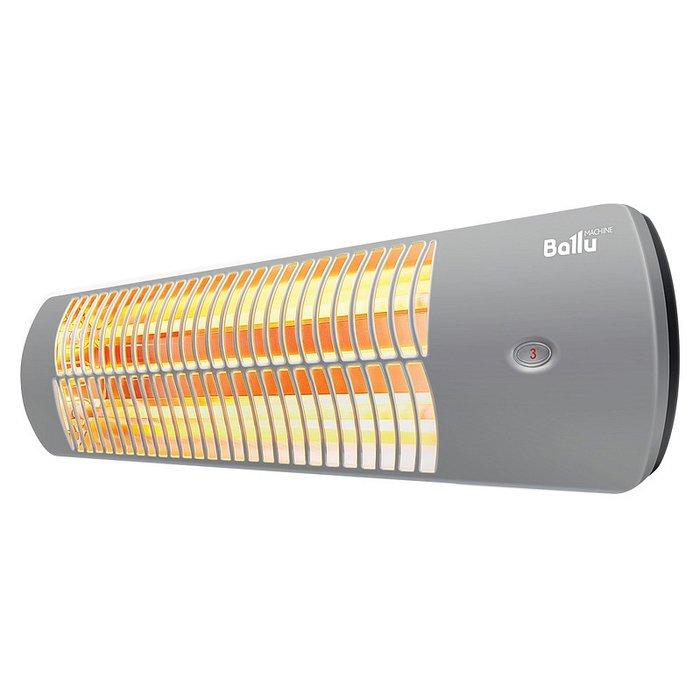 Инфракрасный обогреватель Ballu BIH-LW-1.51 кВт<br>Инфракрасный обогреватель Ballu (Баллу) BIH-LW-1.5 позволяет с удобством регулировать степень нагрева помещения, а также отличается комфортным монтажом и эргономичным и стильным внешним исполнением. Рассматриваемый агрегат позволит быстро и с максимальной энергоэффективностью изменить температурные характеристики в помещении. Обогреватель работает абсолютно бесшумно.<br>Особенности и преимущества инфракрасных обогревателей Ballu серии LW:<br><br>Универсальный монтаж<br>Универсальные кронштейны в комплекте<br>Возможна установка на профессиональный стальной телескопический штатив BIH-LS210 (опция)<br>Барашковые винты для монтажа кронштейнов без использования инструментов<br>Встроенный термостат для защиты прибора от перегрева и поддержания комфортной температуры в помещении<br><br>Инфракрасные обогреватели Ballu серии LW &amp;ndash; это линейка производительных современных моделей, предназначенных для обслуживания небольших помещений любого типа. Представленное оборудование отличается универсальностью в установке и отлично подходит как для потолочного, так и для настенного монтажа. Корпуса всех обогревателей выполнены в передовом дизайне.<br><br>Страна: Китай<br>Мощность, кВт: 1,5<br>Площадь, м?: 15<br>Регулировка мощности: Нет<br>Тип установки: Стена/Потолок<br>Отключение при перегреве: Есть<br>Пульт: Нет<br>Габариты ШВГ, см: 56x16,5x12<br>Вес, кг: 2<br>Гарантия: 2 года<br>Ширина мм: 560<br>Высота мм: 165<br>Глубина мм: 120