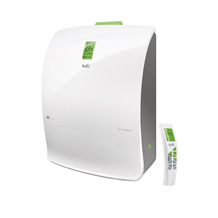 Приточно-очистительный мультикомплекс Ballu BMAC-200 BaseБытовые приточные<br>Современное устройство Ballu (Балу) BMAC-200 Base представляет собой приточно-очистительный комплекс, который подарит вам идеальные климатические условия и станет отличной инвестицией в ваше здоровье. Прибор не только обеспечивает вас притоком свежего воздуха, но и очищает его от различных загрязнений и болезнетворный микроорганизмов. Может также выполнять свои функции бесшумно благодаря ночному режиму работы.<br>Главные достоинства серии приточно-очистительных Air Master Platinum:<br><br>Постоянный приток свежего воздуха до 200м  в час.<br>Пять скоростных режимов позволяют выбрать подходящую интенсивность притока для помещений площадью до 75м .<br>Мощная система очистки воздуха устраняет 99,9 % загрязнений в воздухе, поглощает неприятные запахи, обеззараживает от вирусов и бактерий.<br>Датчик загрязнения воздуха контролирует уровень взвешенных частиц в воздухе помещения и, изменяя скорость потока, автоматически регулирует интенсивность очистки.<br>Бесшумный ночной режим работы. Чистый свежий воздух во время сна.<br>Ультрафиолетовая лампа уничтожает болезнетворные микроорганизмы, бактерии и вирусы, содержащиеся в воздухе на клеточном уровне.<br>Генератор холодной плазмы (ионизатор последнего поколения) деактивирует микроорганизмы и исключает их образование внутри прибора.<br>Высокоэффективный 5-ти скоростной вентилятор с минимальным уровнем шума 25 дБ на первой скорости.<br>Контейнер для ароматических масел позволяет создать индивидуальную атмосферу на любой вкус.<br>Установка по технологии  Чистый монтаж  с помощью специального оборудования прямо на чистовую отделку. Стандартный монтаж занимает не более часа.<br><br>Air Master   это новая серия воздухоочистительных комплексов от всемирно известной компании Ballu. Модели выполнены в стильном элегантном дизайне, отличаются простотой монтажа и обслуживания. Семейство представлено приборами, укомплектованными различным набором фильтров, что п