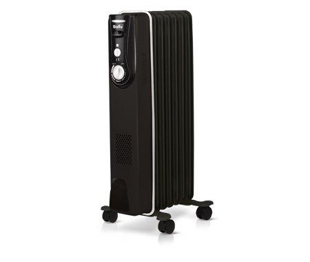 Масляный радиатор Ballu BOH/MD-07BBN2.0 кВт<br>Корпус маслонаполненного радиатора Ballu (Баллу) BOH/MD-07BBN элегантного черного цвета с белой окантовкой, что является последним словом современного промышленного дизайна. Кроме визуальных качеств, прибор обладает рядом преимуществ. В конструкцию встроен высоконадежный термостат для поддержания необходимой температуры, антикоррозийное покрытие защищает от внешних неблагоприятных условий.<br><br><br><br><br>Особенности и преимущества масляных радиаторов Ballu серии Modern:<br><br>Инновационный дизайн.<br>Защитный антикоррозийный состав  Protective coating  - защищает от негативных воздействий внешней среды.<br>Термостат нового поколения  Opti-Heat  - с функцией автоматического поддержания температуры.<br>Оптимальная форма перфорации   увеличивает срок службы радиатора и обеспечивает более эффективный обогрев.<br>Конструкция ножек  High stability  - полностью исключает возможность опрокидывания.<br>Комплекс  Easy moving  для свободы перемещения.<br><br><br><br> <br><br><br>Режимы работы:<br><br>Мощность обогрева 750Вт<br>Мощность обогрева 1500Вт<br><br> <br><br><br><br><br><br>Эргономичная, детально продуманная конструкция, стильная черная цветовая гамма с белоснежными элементами   это современное дизайнерское решение маслонаполненных радиаторов серии Modern от торговой марки Ballu. Такие устройства отлично подходят для обслуживания жилых и административных помещений. Компания-производитель позаботилась о мобильности радиаторов, оснастив их колесиками и удобной ручкой. Также имеется серьезная защитная система, которая сделает эксплуатацию приборов совершенно безопасной. Для управления радиаторами предусмотрена интуитивно понятная панель с механическими переключателями, регулирующими мощность работы и температуру нагрева. Все устройства прошли необходимую сертификацию. Комплектация предусматривает наличие инструкции на русском языке.<br><br>Страна: Китай<br>Мощность, Вт: 2000<br>Площадь, м?: 20<br>Колво секций: 7<br>Напр