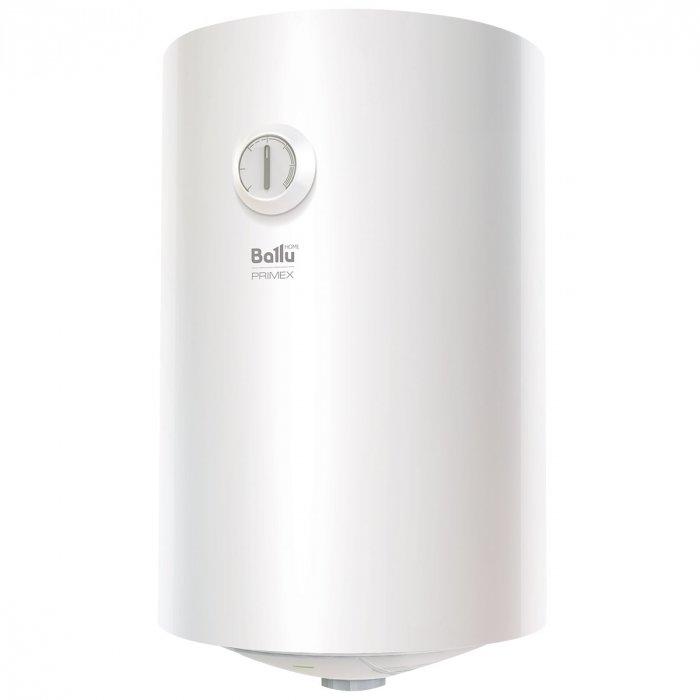 Водонагреватель Ballu BWH/S 50 PRIMEX50 литров<br>Компактный и эргономичный водонагреватель бытового типа Ballu (Баллу) BWH/S 50 PRIMEX был изготовлен из передовых высококачественных материалов с отличными защитными свойствами, а также укомплектован современной защитной системой. Новейшее оснащение данного агрегата обеспечивает его непревзойденную энергоэффективность и стабильную производительность.<br>Особенности и преимущества накопительных водонагревателей Ballu серии PRIMEX:<br><br>Обеззараживание воды, защита от накипи, повышенный ресурс нагревательного элемента и оптимальная температура нагрева.<br>Регулировка диапазона нагрева воды от 30 &amp;deg;С до 75 &amp;deg;С.<br>Мощный медный ТЭН с повышенным ресурсом работы.<br>Магниевый анод эффективно защищает внутренний бак от образования очагов коррозии.<br>Приборы соответствуют международному классу защиты от проникновения пыли и влаги.<br><br>Серия PRIMEX &amp;mdash; это новинка 2017 года от торговой марки Ballu. Водонагреватели из этого семейства прекрасно защищены от протечек и ржавчины, имеют специальное эмалевое покрытие, дают возможность регулировать температуру подогрева воды. Все модели оснащены медными греющими элементами трубчатого типа, которые не соприкасаются с водой, что значительно повысило ресурс их работы.<br><br>Страна: Китай<br>Производитель: Китай<br>Способ нагрева: Электрический<br>Нагревательный элемент: Медный<br>Объем, л: 50<br>Темп. нагрева, С: 75<br>Мощность, кВт: 1,5<br>Напряжение сети, В: 220 В<br>Плоский бак: Нет<br>Узкий бак Slim: Нет<br>Магниевый анод: Да<br>Колво ТЭНов: 1<br>Дисплей: Нет<br>Сухой ТЭН: Нет<br>Защита от перегрева: Да<br>Покрытие бака: Эмаль<br>Тип установки: Вертикальная<br>Подводка: Нижняя<br>Управление: Механическое<br>Размеры ШхВхГ, см: 38x71.5x38<br>Вес, кг: 18<br>Гарантия: 5 лет<br>Ширина мм: 380<br>Высота мм: 715<br>Глубина мм: 380