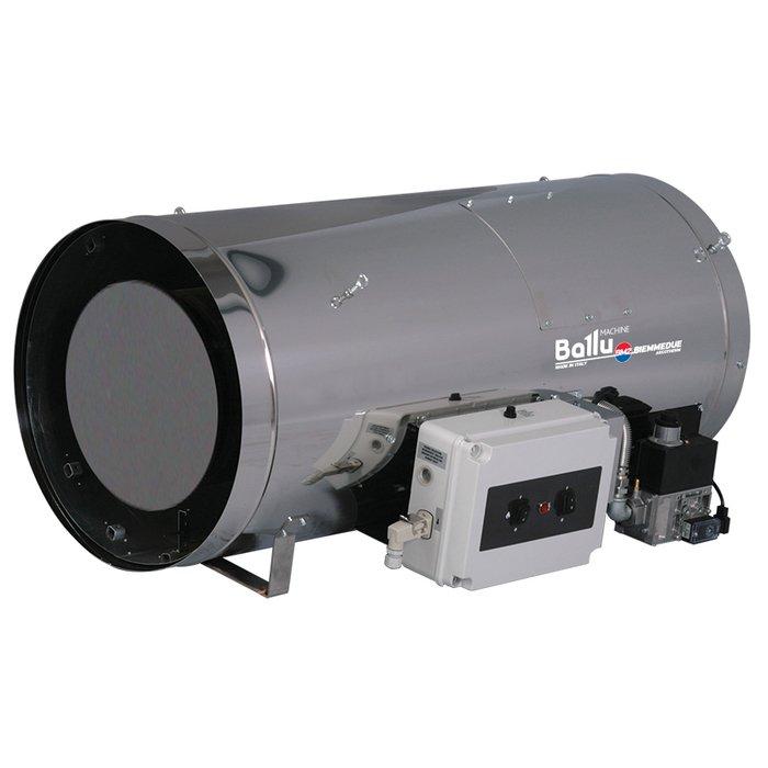 Пушка прямого нагрева Ballu-Biemmedue GA/N 45 - CГазовые пушки<br>Пушка прямого нагрева для гаража Ballu-Biemmedue GA/N 45 C   это газовый теплогенератор прямого нагрева, рассчитанный на подвесной монтаж. Пушка прямого нагрева позволяет грамотно организовать обогрев разнообразных объектов по типу зерновых цехов, теплив или птицефабрик, где особо важно следить за уровнем вредных выбросов. Долговечность данной модели обеспечивает ее качественным исполнением.<br><br>Страна: Италия<br>Производитель: Италия<br>Тип: Газовый<br>Мощность, кВт: 45.64<br>Площадь, м?: 450<br>Скорость потока м/с: None<br>Расход топлива, кг/час: 4.08/1.53<br>Расход воздуха, мsup3;/ч: 2500<br>Нагревательный элемент: Трубчатый<br>Вместимость бака, л: None<br>Регулировка температуры: Нет<br>Вентиляция без нагрева: Есть<br>Настенный монтаж: Нет<br>Влагозащитный корпус: Нет<br>Напряжение, В: Нет<br>Вилка: None<br>Размеры ВхШхГ, см: 32.6х43.6х72.5<br>Вес, кг: 21<br>Гарантия: 3 года