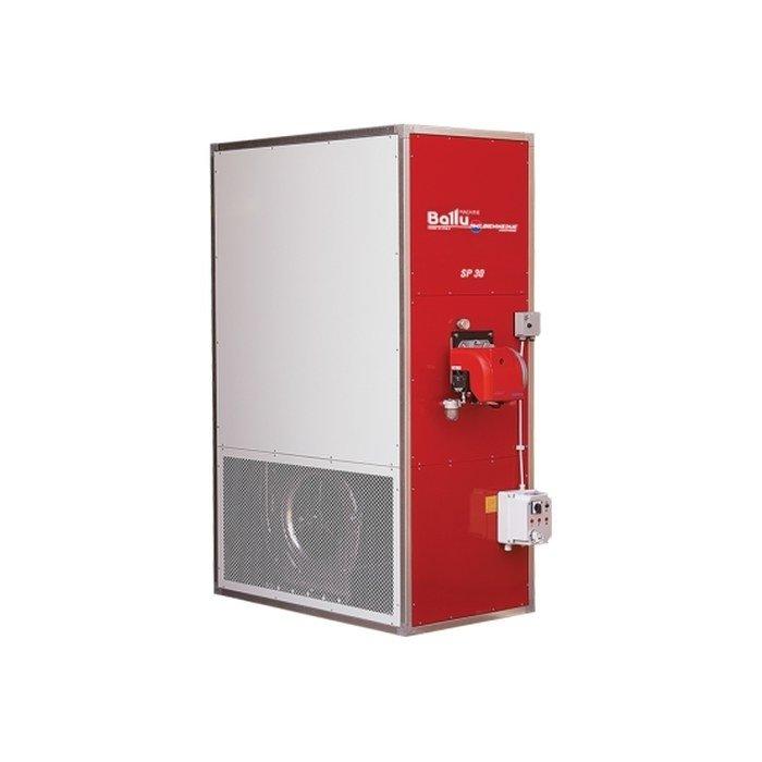 Тепловая пушка Ballu-Biemmedue SP 200 METANOГазовые пушки<br>Воздухонагреватель предварительного нагрева Ballu-Biemmedue SP 200 METANO отличается своей производительностью и эффективной работой. Устройство оборудовано газовой горелкой для работы на природном газе, газовым фильтром, регулятором давления, предохранительным клапаном и рабочим газовым клапаном. Встроенный термостат имеет функцию ручного перезапуска.<br>Особенности и преимущества:<br><br>Автоматическая горелка на жидком топливе или газе;<br>Электронная система стабилизации пламени;<br>Распределительная коробка;<br>Двойной термостат с функцией ручного запуска;<br>Центробежный вентилятор;<br>Защитные решетки на входе;<br>Фильтр (версия на жидком топливе);<br>Газовая рампа (EN 676) (в газовом нагревателе): газовый фильтр, регулятор давления газа, предохранительный клапан, клапан подачи газа;<br>Двухслойный корпус из стали для термозвуковой изоляции;<br>Теплообменник с высоким КПД;<br>Подключение к вентиляционным каналам;<br>Предварительный нагрев камеры сгорания;<br>Автоматическая поствентиляция нагревателя;<br>Переключатель ?лето / зима? для использования нагревателя в качестве вентилятора.<br><br>Для создания комфортных климатических условий в помещениях без центрального отопления идеально подходит церия стационарных воздухонагревателей непрямого нагрева Ballu-Biemmedue SP. Корпус каждой модели изготовлен из высокопрочной двойной стали, что обеспечивает звуковую и термическую изоляцию, а также не позволяет корпусу сильно нагреваться во время работы.<br><br>Страна: Италия<br>Тип: Напольная<br>Мощность, кВт: 220,9<br>Площадь, м?: 2200<br>Скорость потока м/с: None<br>Расход топлива, кг/час: 22,15<br>Расход воздуха, мsup3;/ч: 12500<br>Нагревательный элемент: Трубчатый<br>Вместимость бака, л: None<br>Регулировка температуры: Есть<br>Вентиляция без нагрева: Нет<br>Настенный монтаж: Нет<br>Влагозащитный корпус: Нет<br>Напряжение, В: 380 В<br>Вилка: None<br>Размеры ВхШхГ, см: 213х77х196<br>Вес, кг: 367<br>Гаранти