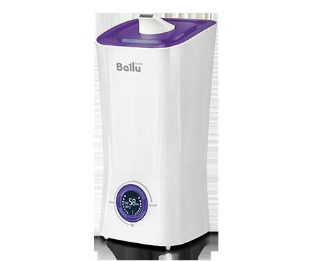 Увлажнитель воздуха Ballu UHB-205 белый/фиолетовыйУльтразвуковые<br>Инновационный увлажнитель с приятным дизайном Ballu (Баллу) UHB-205 белый/фиолетовый, который использует в системе увлажнения воздуха ультразвуковую технологию, безопасен в использовании и имеет второй класс электрозащиты. Технология, которую использует увлажнитель в своей работе &amp;mdash; полностью безопасна и высокоэффективна, экономично расходует электрическую энергию.<br>Особенности и преимущества ультразвукового увлажнителя воздуха Ballu представленной модели:<br><br>Высокая производительность по увлажнению - до 350 г/час<br>Распылитель 360&amp;deg;<br>Фильтр-картридж в комплекте<br>Индикация низкого уровня воды<br>Индикатор комнатной температуры и влажности<br>Отключаемый дисплей (ночной режим работы)<br>Встроенный гигрометр и гигростат<br>Таймер на отключение (до 8 часов)<br>Размер комнаты: до 40 м&amp;sup2;<br>Резервуар для воды 3,6 литра<br>Для очистки воды от солей жесткости применяется фильтр-картридж Ballu FC &amp;ndash; 400.<br><br><br>Торговая марка Ballu постаралась объединить в своих увлажнителях воздуха самые востребованные покупателями функции. В результате получились надёжные технологичные приборы, с удобным управлением, эргономичным дизайном и высокой эффективностью работы. Модельный ряд увлажнителей воздуха Ballu с ультразвуковой мембраной представлен широким ассортиментом приборов самых разнообразных функциональных решений, цветов и форм. Здесь есть устройства с механическим и электронным управлением, с резервуарами разной вместительности, с фильтрами и без них, а также модели с функцией ароматизации. В интернет-магазине mircli.ru ультразвуковые увлажнители воздуха Ballu посетители сайта могут приобрести по привлекательной цене.<br><br>Страна: Китай<br>Производитель: Китай<br>Площадь, м?: 40<br>Площадь по очистке, м?: Нет<br>Обьем бака, л: 3,6<br>Колво режимов работы: 4<br>Расход воды, мл/ч: 350<br>Гигростат: Да<br>Гигрометр: Да<br>Питание, В: 220 В<br>Звуковое давление, дБа: