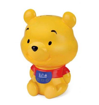 Увлажнитель воздуха Ballu UHB-275 E Winnie PoohУльтразвуковые<br>Увлажнитель Ballu (Баллу) UHB-275 E Winnie Pooh работает согласно ультразвуковой технологии, выполнен в форме мультяшного героя, любимого всеми детьми без исключения &amp;mdash; он станет не просто полезным приобретением, но и полноценным декоративным элементом для детской комнаты. Пересушенный воздух плохо влияет на все системы человеческого организма, поэтому увлажнение воздуха в жилом помещении так необходимо.<br>Особенности и преимущества ультразвукового увлажнителя воздуха Ballu представленной модели:<br><br>Оригинальное решение для детской комнаты.<br>Увлажнение воздуха (200 г/час).<br>Холодный пар.<br>Индикаторы работы и низкого уровня воды.<br>Автоотключение при низком уровне воды.<br>Отключение через заданное время (12-часовой таймер на отключение).<br>Автоматическая очистка водопроводной воды от солей жесткости (фильтр-картридж в комплекте).<br>Электронное управление.<br>Складная ручка для переноски резервуара.<br>Окно индикатор уровня воды в резервуаре.<br>Регулировка интенсивности увлажнения.<br><br><br>Торговая марка Ballu постаралась объединить в своих увлажнителях воздуха самые востребованные покупателями функции. В результате получились надёжные технологичные приборы, с удобным управлением, эргономичным дизайном и высокой эффективностью работы. Модельный ряд увлажнителей воздуха Ballu с ультразвуковой мембраной представлен широким ассортиментом приборов самых разнообразных функциональных решений, цветов и форм. Здесь есть устройства с механическим и электронным управлением, с резервуарами разной вместительности, с фильтрами и без них, а также модели с функцией ароматизации. В интернет-магазине mircli.ru ультразвуковые увлажнители воздуха Ballu посетители сайта могут приобрести по привлекательной цене.<br><br>Страна: Китай<br>Производитель: Китай<br>Площадь, м?: 30<br>Площадь по очистке, м?: Нет<br>Обьем бака, л: 3,0<br>Колво режимов работы: 3<br>Расход воды, мл/ч: 200<br>Гигростат: Нет<