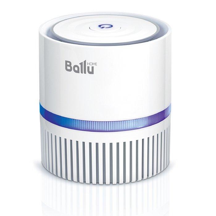 Очиститель воздуха Ballu AP-100Cо сменными фильтрами<br>Ballu (Баллу) АР-100 &amp;ndash; это компактный очиститель воздуха, который способен производить тонкую фильтрацию, насыщать воздух ионами, а также ароматизировать. Устройство исполнено в компактном корпусе со степенью защиты от проникновения пыли и влаги IPX0. Среди преимуществ стоит выделить и комфортный низкий уровень производимого шума: менее 40 дБ(А).<br>Особенности и преимущества очистителя воздуха Ballu AP-100:<br><br>Три ступени очистки воздуха<br>Капсула для ароматических масел<br>Индикация работы прибора<br>Функция ионизации<br>Работа от электросети и USB<br>Минимальное потребление электроэнергии<br>Легкое обслуживание и замена фильтров<br>Лопасти вентилятора убраны внутрь корпуса прибора<br>Занимает минимум места<br><br>Очистители воздуха Ballu AP &amp;ndash; это компактные и тихие, незаметные помощники, которые помогут вам в создании здоровых условий дома или на работе. Модели выполнены в современным стильном дизайне, ненавязчивом и универсальном. Конструкция очистителей эргономична, что обеспечивает простоту эксплуатации и обслуживания приборов. Кроме того, устройства могут подключаться как к стандартной бытовой электророзетке, так и к порту USB, что значительно повышает их удобство.&amp;nbsp;<br><br>Страна: Китай<br>Производитель: Китай<br>Площадь, м?: 5<br>Воздухообмен мsup3;: 31<br>Колво режимов работы: 3<br>Сенсоры качества воздуха: Нет<br>Газоанализатор: Нет<br>Датчик пыли: Нет<br>Предварительный фильтр: Нет<br>НЕРАфильтр: Да<br>Угольный фильтр: Нет<br>Электростатичный фильтр: Нет<br>Плазменный фильтр: Нет<br>Фотокаталитический фильтр: Нет<br>УФ лампа: Нет<br>Питание, В: 220 В<br>Ионизация: Да<br>Пульт Д/У: Нет<br>Антибактерицидный фильтр: Нет<br>Шум, дБа: 40<br>Мощность, Вт: 3<br>Габариты ВхШхГ, см: 13,5x12,5x12,5<br>Вес, кг: 1<br>Гарантия: 1 год<br>Ширина мм: 125<br>Высота мм: 135<br>Глубина мм: 125