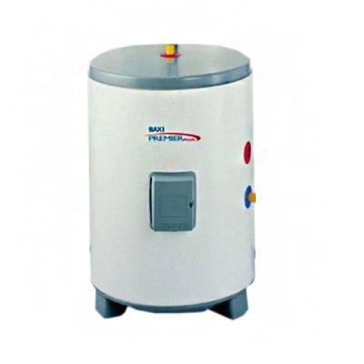 Бойлер косвенного нагрева Baxi Premier plus 100100 литров<br>Бойлер косвенного нагрева Baxi Premier plus 100 теплообменником уникальной конструкции  змеевик в змеевике , который обеспечивает невероятно быстрый и максимально эффективный нагрев воды. Стоит также отметить конструктивную особенность: теплообменник находится глубоко в бойлере, что позволило получать больший объем воды с одинаковой температурой. Представленная модель может подключаться к разным типам котлом, в том числе и конденсационным.<br><br>Особенности бойлеров косвенного нагрева серии Premier Plus от компании Baxi:<br><br>уникальная конструкция теплообменника  эффективный и максимально быстрый нагрев воды;<br>змеевик находится глубоко в бойлере, что позволяет получить больше горячей воды с однородной температурой;<br>совместим со всеми котлами, в том числе и с конденсационными;<br>легкость транспортировки и установки;<br>входной диффузор холодной воды;<br>запатентованный дизайн;<br>уменьшение перемешивания холодной и горячей воды;<br>уникальный нагревательный элемент, который имеет форму  L , (опция);<br>ключ для легкого монтажа и демонтажа ТЭНа;<br>нержавеющая сталь DUPLEX обладает повышенной стойкостью к коррозии;<br>прочная конструкция и легкий вес;<br>теплообменник   змеевик в змеевике  быстро и эффективно нагревает воду;<br>универсальный дизайн настенных и напольных бойлеров;<br>встроенный термостат и термостат безопасности для присоединения к котлу и управления с него;<br>установка напольная или настенная;<br>встроенные в основание полости для захвата руками;<br>подъемная опора в комплекте (болты, вкрученные в патрубок выхода горячей воды);<br>опора жесткости в основании для устойчивости.<br><br>Premier Plus   это семейство бойлеров косвенного нагрева, разработанное всемирно известным брендом Baxi. Эти агрегаты вобрали в себя самые современные технологии и множество полезного функционала, что делает их удобными, долговечными, безопасными. Лучшие инженеры, конструкторы и дизайнеры компании-прои