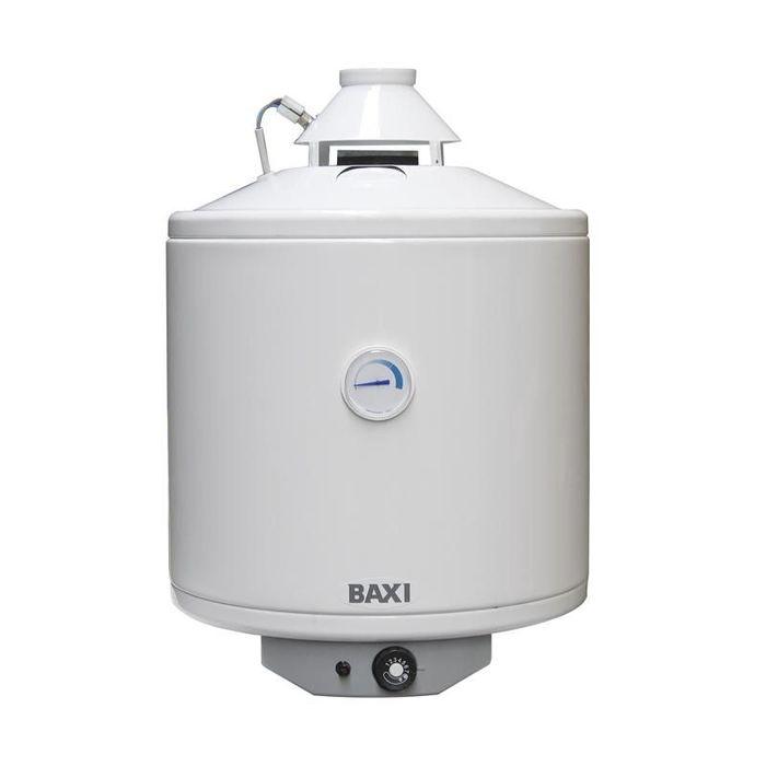Водонагреватель Baxi SAG-3 5050 литров<br>Современный передовой накопительный газовый водонагреватель Baxi (Бакси) SAG-3 50 совершенно безопасен, производитель позаботился о наличии различных контролирующих работу прибора устройств. Данный агрегат адаптирован для российских эксплуатационных условий и функционирует без перебоев даже при низком давлении газа и небольшом входном напоре воды. Производитель позаботился и о защите от ржавчины, снабдив прибор анодом.<br>Особенности и преимущества газовых накопительных водонагревателей Baxi серии SAG-3:<br><br>Открытая камера сгорания;<br>Независимость от электропитания;<br>Пьезоэлектрическое зажигание;<br>Устройство розжига с пилотным пламенем;<br>Эмалированный стальной бак для защиты от коррозии;<br>Настенная или напольная установка;<br>Экологически чистая теплоизоляция из пенополиуретана;<br>Магниевый анод для дополнительной защиты от коррозии;<br>Универсальная горелка из нержавеющей стали;<br>Наличие рециркуляционного патрубка (в напольных моделях);<br>Возможна перенастройка для работы на сжиженном газе;<br>Датчик тяги   термостат; обеспечивает безопасный отвод продуктов сгорания, немедленно прекращает подачу газа на горелку в случае непроходимости дымохода (засор, сильный ветер);<br>Контроль наличия пламени при помощи термопары; в случае погасания горелки или запальника подача газа автоматически прекращается;<br>Регулировочный термостат   обеспечивает нагрев воды в бойлере до заданной пользователем температуры;<br>Предохранительный клапан на 8 бар.<br><br>Емкостные водонагреватели из серии Gas-3, работающие на газу, оснащены качественными комплектующими и оборудованы системой защиты. Их установка незатруднительна, может производиться на полу или на стене, однако это лучше доверить профессионалам для соблюдения всех необходимых условий. В интернет-магазине mircli.ru вы найдете полный ассортимент линейки Gas-3 от бренда Baxi.<br><br>Страна: Италия<br>Производитель: Италия<br>Перевод на сжиженный газ: Да<br>Магниевый анод