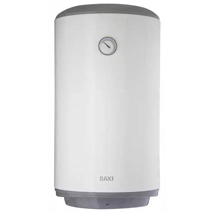 Электрический накопительный водонагреватель Baxi V 580 TS80 литров<br>Baxi (Бакси) V 580 TS   это термоэлектрическая модель водонагревателя, которая представляет собой надежное и эффективное решение задачи приготовления и хранения воды в условиях промышленного производства или на бытовых объектах различного типа. Изделие поставляется со встроенным змеевиком, который позволяет осуществить утилизацию тепла от системы отопления.<br>Особенности электрических водонагревателей от торговой марки Baxi:<br><br>Высококачественный стальной эмалированный бак;<br>Удобство и простота настенного монтажа;<br>Световая индикация нагрева;<br>Термометр;<br>Удобный в использовании регулятор температуры;<br>Диэлектрические вставки на гидравлических подключениях   обеспечивают повышенную надежность и безопасность;<br>Магниевый анод большего размера   увеличивает срок службы водонагревателя;<br>Нагревающий элемент (ТЭН) электрически изолирован пластиковой вставкой и подключен к магниевому аноду омическим сопротивлением;<br>Предохранительный сбросной клапан, откалиброванный на 9 бар;<br>Горизонтальные и вертикальные модели;<br>Термоэлектрические модели со встроенным змеевиком, для утилизации тепла от системы отопления (TD   правосторонний, TS   левосторонний).<br><br>Электрические водонагреватели Baxi предназначены для приготовления и хранения горячей воды на объектах различного типа и назначения   это может быть не только жилое сооружение, но промышленное предприятие. Модельный ряд включает в себя как горизонтальные, так и вертикальные модели; данные бойлеры отличаются оптимальными размерными характеристиками и простым способом монтажа.<br><br>Страна: Италия<br>Производитель: Италия<br>Способ нагрева: Электрический<br>Нагревательный элемент: Трубчатый<br>Объем, л: 80<br>Темп. нагрева, С: 75<br>Мощность, кВт: 1.5<br>Напряжение сети, В: 220 В<br>Плоский бак: Нет<br>Узкий бак Slim: Нет<br>Магниевый анод: Да<br>Колво ТЭНов: 1<br>Дисплей: Нет<br>Сухой ТЭН: Нет<br>Защита от перегрева: Да<br>Покр