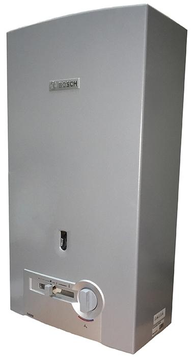 Водонагреватель Bosch WR13-2 P23 S579921-27 кВт<br>Газовый проточный водонагреватель Bosch WR13-2 P23 S5799 предназначен для реализации системы горячего водоснабжения в жилых домах и прекрасно подходит для установки в домах с нарушенной вентиляцией или дымоудалением. Газовая колонка изготовлена из качественных, долговечных материалов (горелка из нержавеющей стали, теплообменник из меди), обличается компактными размерами и безопасностью в использовании.<br> <br>Основные особенности модели:<br><br>вертикальная установка;<br>работа при низком давлении;<br>автоматическая регулировка температуры;<br>модуляция мощности оборудования;<br>непрерывно горящий запальник;<br>полноценно функционирует при давлении воды в 0,1 атм;<br>непрерывная работа оборудования;<br>защита от перегрева;<br>датчик контроля газа;<br>изготавливается из нержавеющей стали;<br>теплообменник из меди;<br>высокая производительность;<br>модели производительностью от 10 до 15 л/мин;<br>горелка из нержавеющей стали, теплообменник из меди;<br>компактные размеры, элегантный дизайн;<br>жк-дисплей с индикацией температуры;<br>автоматическое поддержание заданной температуры воды;<br>система anti overflow   удаление продуктов сгорания через дымоход;<br>защита от перегрева, ионизационный контроль пламени и датчик контроля дымовых газов;<br>простота установки;<br>гарантия качества и надежной работы.<br><br> <br>Водонагреватели от компании Bosch оснащены специальной технологией модуляции мощности, которая отвечает за стабильный приток при различном входящем напоре воды. С таким оборудованием горячая вода всегда будет к вашим услугам! Линейка оборудования проверенна временем и многими пользователями, которые оставляют исключительно положительные отзывы об этой безукоризненной и неприхотливой технике. Водонагреватели оснащены высококачественными деталями, произведенными по новейшим технологиям, что, безусловно, очень благоприятно сказывается на сроке эксплуатации оборудования.<br><br><br>Страна: Германия<br>Производит