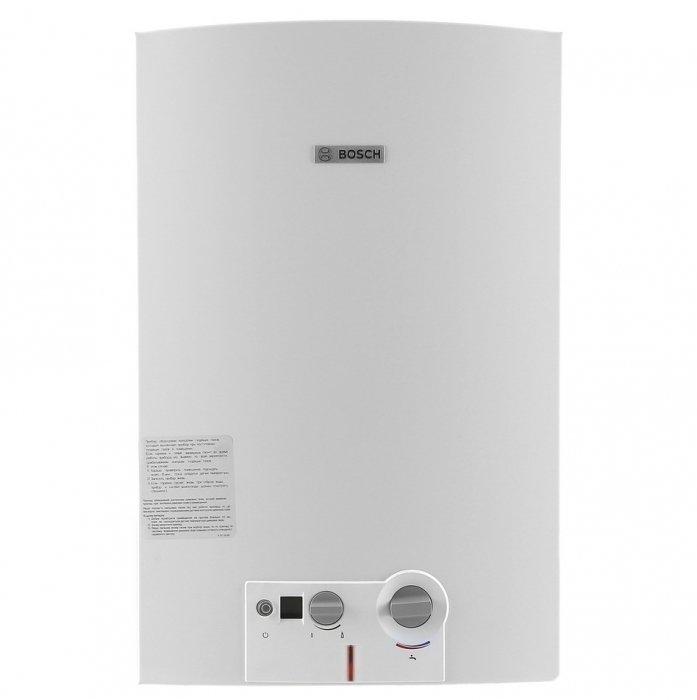 Водонагреватель Bosch WRD10-2 G2316-21 кВт<br>Газовый проточный водонагреватель (газовая колонка) Bosch WRD10-2 G23 &amp;ndash; это экономичный и эффективный способ получения горячей воды в газифицированных жилых домах. Достоинством серии Therm 6000 Oявляется компактность, автоматическое поддержание заданной температуры, а также качественные и долговечные&amp;nbsp; материалы, из которых изготавливается колонка.<br>&amp;nbsp;<br>Основные особенности модели:<br><br>вертикальная установка;<br>работа при низком давлении;<br>автоматическая регулировка температуры;<br>модуляция мощности оборудования;<br>непрерывно горящий запальник;<br>полноценно функционирует при давлении воды в 0,1 атм;<br>непрерывная работа оборудования;<br>защита от перегрева;<br>датчик контроля газа;<br>изготавливается из нержавеющей стали;<br>теплообменник из меди;<br>высокая производительность;<br>технология hydropower &amp;ndash; автоматический розжиг от встроенного гидрогеренатора;<br>модели производительностью от 10 до 15 л/мин;<br>горелка из нержавеющей стали, теплообменник из меди;<br>компактные размеры, элегантный дизайн;<br>жк-дисплей с индикацией температуры;<br>автоматическое поддержание заданной температуры воды;<br>система anti overflow &amp;ndash; удаление продуктов сгорания через дымоход;<br>защита от перегрева, ионизационный контроль пламени и датчик контроля дымовых газов;<br>простота установки;<br>гарантия качества и надежной работы.<br><br>&amp;nbsp;<br>Водонагреватели от компании Bosch оснащены специальной технологией модуляции мощности, которая отвечает за стабильный приток при различном входящем напоре воды. С таким оборудованием горячая вода всегда будет к вашим услугам! Линейка оборудования проверенна временем и многими пользователями, которые оставляют исключительно положительные отзывы об этой безукоризненной и неприхотливой технике. Водонагреватели оснащены высококачественными деталями, произведенными по новейшим технологиям, что, безусловно, очень благоприятно сказывается 
