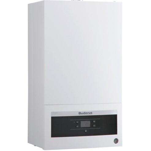 Котел Buderus Logamax U072-24K24 кВт<br>Двухконтурный газовый котел с новейшей технологичной комплектацией и элегантным прочным корпусом Buderus (Будерус)  Logamax U072-24K является прекрасным вариантом для установки на объектах, где необходимо наладить отопление и систему гвс. Агрегат не требует от пользователя постоянного присмотра, легко обслуживается и не производит вредных выбросов, угрожающих здоровью людей.<br>Особенности и преимущества газовых котлов Buderus серии Logamax U072:<br><br>Диапазон мощности котлов 12, 18 и 24, 35 кВт идеально подойдет как для частного дома, так и для квартиры.<br>Вертикальные соединения для подводки труб к котлу обеспечивают максимально удобный монтаж котла<br>Бесперебойная работа даже при перепадах давления воды и газа<br>Компактность и небольшой вес<br>Неприхотливость к перепадам напряжения<br>Устойчивость работы при перепадах давления газа<br>Модулируемый вентилятор<br>Защищенность от замерзания<br>Адаптирован к российским условиям<br>Обогрев больших площадей (110-240 м2)<br>Низкий уровень шума   36 dBA<br>Электронное зажигание<br>Контроль пламени при помощи ионизационного электрода<br>Индикация кодов ошибок на LCD-дисплее<br><br>В серии Logamax U072 от Buderus представлены двух- и одноконтурные газовые котлы, предназначенные для настенной установки в бытовых помещениях. Устройства помогают грамотно обогреть всю необходимую площадь, некоторые из представленных моделей также отлично работают в системах гвс. Котлы оборудованы защитой от замерзания и устойчивы к нестабильному давлению. <br> <br> <br> <br> <br> <br> <br><br>Страна: Германия<br>Производство: Россия<br>Тип котла: Энергозависимые<br>Режим работы: Отопление/ГВС<br>Камера сгорания: Закрытая<br>Горелка: Модулируемая<br>Max мощность, кВт: 24,0<br>Min мощность, кВт: 7,2<br>Max давление отопит контура , Атм: 2,96<br>Min давление отопит контура , Атм: None<br>Расширительный бак: Да<br>Циркуляционный насос: Нет<br>Встроенный накопительный бойлер: Нет<br>Возможность подключен