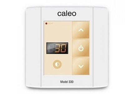 Теплый пол Caleo 330Терморегуляторы<br>Небольшой встраиваемый терморегулятор модели CALEO 330 с простым интуитивно понятным кнопочным управлением позволит пользователю быстро задать нужную температуру обогрева, а также сможет автоматически ее поддерживать, создавая комфортные условия.<br>Заботясь о комфорте пользователей своего оборудования, торговая марка CALEO разработала линейку аксессуаров, которые делают использование отопительных систем более простым и удобным.  Посетители найдут большой выбор терморегуляторов для теплых полов от этого бренда: встраиваемые, с адаптером и без, с пультом и ручным управлением.<br><br>Страна: Россия<br>Мощность, кВт: None<br>Канальная мощность, кВт: 3,0<br>Длина, м: None<br>Программирование: None<br>Площадь, м?: None<br>Управление: Кнопочное<br>Функция защиты от перегрева: Есть<br>Тип кабеля: None<br>Размер, мм: 90х90х45<br>Напряжение, В: 220<br>Вес, кг: 1<br>Гарантия: 2 года<br>Ширина мм: 90<br>Высота мм: 90<br>Глубина мм: 45