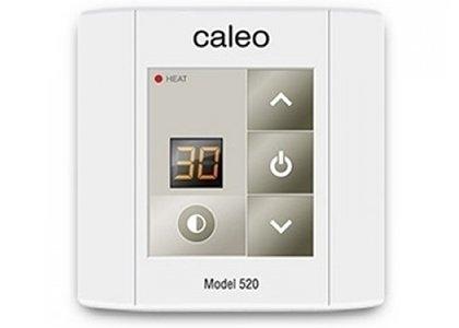 Теплый пол Caleo 520Терморегуляторы<br>Накладной компактный терморегулятор 520 от компании CALEO оснащен сенсорным управлением, а также дисплеем, на котором отображается выбранная пользователем температура обогрева. Отличается малой мощностью, имеет блокировку клавиатуры и ночной режим подсветки.<br>Заботясь о комфорте пользователей своего оборудования, торговая марка CALEO разработала линейку аксессуаров, которые делают использование отопительных систем более простым и удобным. Посетители найдут большой выбор терморегуляторов для теплых полов от этого бренда: встраиваемые, с адаптером и без, с пультом и ручным управлением.<br><br>Страна: Россия<br>Мощность, кВт: None<br>Канальная мощность, кВт: 2,0<br>Длина, м: None<br>Программирование: None<br>Площадь, м?: None<br>Управление: Кнопочное<br>Функция защиты от перегрева: None<br>Тип кабеля: None<br>Размер, мм: 80х80х30<br>Напряжение, В: 22<br>Вес, кг: 1<br>Гарантия: 2 года<br>Ширина мм: 80<br>Высота мм: 80<br>Глубина мм: 30