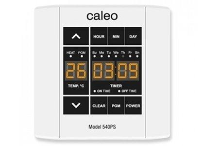 Теплый пол Caleo 540PSТерморегуляторы<br>Программируемый терморегулятор с сенсорным управлением 540PS от компании CALEO сделает использование системы теплый пол удобным. Изделие оснащено информативным дисплеем, имеет ночной режим подсветки, а также специальный температурный датчик для защиты от перегрева.<br>Заботясь о комфорте пользователей своего оборудования, торговая марка CALEO разработала линейку аксессуаров, которые делают использование отопительных систем более простым и удобным. Посетители найдут большой выбор терморегуляторов для теплых полов от этого бренда: встраиваемые, с адаптером и без, с пультом и ручным управлением.<br><br>Страна: Россия<br>Мощность, кВт: None<br>Канальная мощность, кВт: 3,0<br>Длина, м: None<br>Программирование: Есть<br>Площадь, м?: None<br>Управление: Сенсорное<br>Функция защиты от перегрева: Есть<br>Тип кабеля: None<br>Размер, мм: 90х90х40<br>Напряжение, В: 220<br>Вес, кг: 1<br>Гарантия: 2 года<br>Ширина мм: 90<br>Высота мм: 90<br>Глубина мм: 40