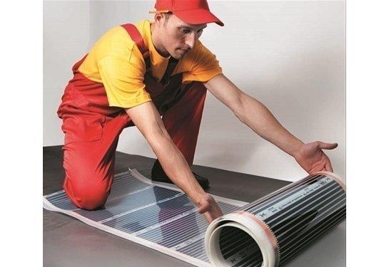 Теплый пол Caleo GOLD 230-0,5-10Пленочные<br>Наш интернет-магазин располагает широким ассортиментом теплых полов от компании CALEO. Модель GOLD 230-0,5-10 представляет собой термопленку, рассчитанную на десять квадратных метров свободной площади. Не перегревается, способна самостоятельно регулировать мощность обогрева, защищена от самовозгорания. Кроме того, данное изделие отличается невероятной износоустойчивостью и долговечностью.<br>Особенности и преимущества пленочных теплых полов серии GOLD от бренда CALEO:<br><br>Пленочный теплый пол четвертого поколения.<br>Обладает эффектом саморегуляции: при увеличении температуры пола потребляемая мощность снижается в 1,5...1,8 раза.<br>Антиискровая серебряная сетка.<br>Ширина пленки &amp;mdash;0,5 м.<br>Удельная мощность: 170 Вт/ м2 &amp;mdash; для стандартных помещений. 230 Вт/ м2 &amp;mdash; для холодных помещений (балконы, лоджии, первые этажи).<br>Быстрее нагревается &amp;mdash; меньше потребляет.<br>Идеальны под ламинат, ковролин, линолеум, паркетную доску.<br>Быстрый и легкий монтаж без стяжки и клея.<br>Инфракрасный принцип обогрева: &amp;laquo;живое&amp;raquo; тепло, не сушит воздух, обладает антиаллергенным эффектом.<br>Экономичнее кабельных аналогов до 20%.<br>В комплекте все необходимое для монтажа: качественные зажимы, провода, изоляция, DVD-инструкция.<br>КАЛЕО &amp;mdash; пленочный теплый пол №1 в России по ежегодным исследованиям независимого агентства Step by Step.<br><br>Состав комплектов теплого пола CALEO GOLD:<br><br>Термопленка в рулоне.<br>Монтажные комплекты (контактные зажимы и битумная изоляция на каждый м2).<br>Комплект соединительных проводов.<br>Инструкция по монтажу, включающая гарантийный талон.<br>Видеоинструкция на DVD-диске.<br><br>CALEO GOLD &amp;ndash; это еще одно семейство теплых полов пленочного типа от известной российской торговой марки. Среди прочих особенностей этого оборудования стоит выделить две: во-первых, это эффект саморегуляции мощности обогрева, благодаря которому исключае