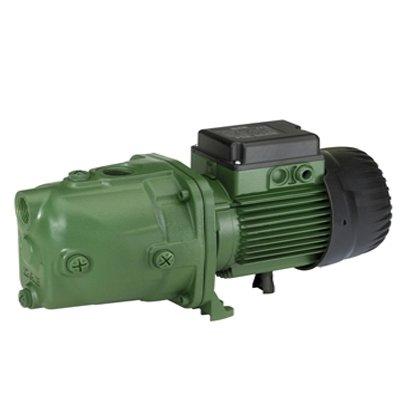 Поверхностный насос DAB JET 300 M180 л/мин<br>Передовая модель электронасоса центробежного типа Dab (Даб) ET 300 M изготовлена из высокопрочного чугуна и применяется для эксплуатации в системах водоснабжения бытового или сельскохозяйственного типа. Данное устройство также оборудовано современным закрытым двигателем с системой шумоподавления и имеет надежную защиту от перегрева.<br>Особенности рассматриваемой модели самовсасывающего насоса от торговой марки DAB:<br><br>Высокая производительность;<br>Глубина всасывания   9 метров;<br>Могут быть задействованы для использования в  системах питьевого водоснабжения;<br>Рабочий диапазон: от 0,4 до 10,5 м3/час;<br>Напор до 62 метров;<br>Температура перекачиваемой жидкости: от -10 С до +35 С для бытовых систем; от -10 С до +40 С для прочего применения.<br>Перекачиваемая жидкость: чистая, без твердых включений и минеральных масел, не вязкая, не кристализованная и химически нейтральная, по характеристикам близкая к воде.<br>Максимальная температура окружающей среды: +40 С;<br>Максимальное рабочее давление: 6 бар (600 кПа);<br>Степень защиты двигателя: IP 44 (клеммной коробки: IP 55);<br>Категория: F;<br>100% гарантия качества.<br><br>Вам необходимо организовать перекачивание жидкости в сельскохозяйственных целях? Сделать систему орошения или полива? Линейка самовсасывающих насосов Dab поможет решить вышеперечисленные задачи, а также еще множество других. Приборы этого семейства могут работать не только с чистыми, но также и немного загрязненными жидкостями, легко справляются с задачей перекачивания воды с воздушными пузырьками, что достигнуто за счет невероятной всасывающей способности. В интернет-магазине mircli.ru самовсасывающие насосы Dab представлены по весьма привлекательной цене.<br><br>Страна: Италия<br>Производитель: Италия<br>Производ. л/мин: 175<br>Мощность, Вт: 2200<br>Напряжение сети, В: 220 В<br>Max напор, м: 51<br>Рабочая глубина, м: 8<br>Max темп. жидкости, С: 35<br>диаметр подсоединения, дюйм: 1 1/2<br>Класс з