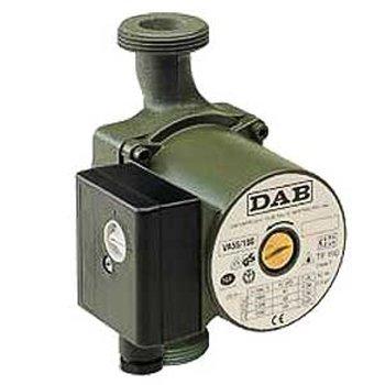 Циркуляционный насос DAB VA 55/180Насосы для отопления<br><br><br>Страна: Италия<br>Производитель: Италия<br>Производ. л/мин: 90<br>диаметр подключ., d: 1 1/2<br>Монтажная длина, мм: 180<br>Мощность, Вт: 82<br>Напряжение сети, В: 220 В<br>Раб. давление, бар: 10<br>Режим работы: 3 скорости<br>Max темп. жидкости, С: 110<br>Класс защиты: IP44<br>Тип рабочей жидкости: Вода, смеси с этиленгликолем<br>Наличие гаек в комплекте: Да<br>Материал корпуса: Чугун<br>Тип соединения: Муфтовый<br>Высота подъема, м: 5<br>Тип ротора: Мокрый<br>Установка насоса: Универсальная<br>Габариты ВхШхГ, см: 12,4x10,4x18<br>Вес, кг: 3<br>Гарантия: 2 года<br>Ширина мм: 104<br>Высота мм: 124<br>Глубина мм: 180
