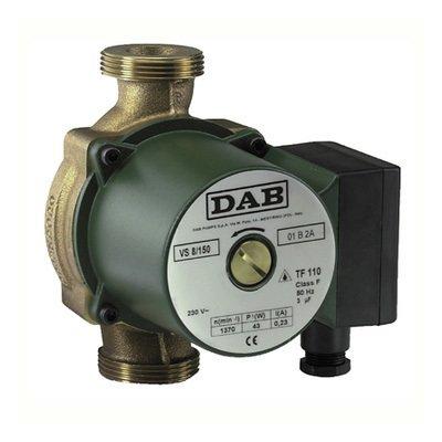 Циркуляционный насос DAB VS 65/150 MНасосы для отопления<br>Отличным помощником в обеспечении работы системы ГВС станет насос DAB (Даб) VS 65/150 M. Данные насосы не требуют сложного монтажа и технического обслуживания. Установка возможна в любом положении. Двигатель работает практически бесшумно. На передней поверхности имеется пробка для удаления воздуха. Имеется защита от перегрева. Корпус выполнен из бронзы, специально для работы в более агрессивной среде горячей воды.<br>Особенности рассматриваемой модели одиночного циркуляционного насоса от торговой марки DAB:<br><br>Применяются для бытовых систем: отопления, горячего водоснабжения;<br>Высокая производительность;<br>Муфтовый тип присоединения патрубков;<br>Не предназначены для использования в&amp;nbsp; системах питьевого водоснабжения;<br>Типы перекачиваемых сред: вода, смеси с этиленгликолем (макс. содержание гликоля 30%);<br>Трехскоростной электромотор;<br>Тип ротора &amp;laquo;мокрый&amp;raquo;;<br>Надежная защита от коррозии &amp;ndash; корпус наcоса изготовлен из чугуна;<br>Универсальность установки: монтаж возможен как на горизонтальном, так и на вертикальном участке трубопровода;<br>Экономия электроэнергии, а также снижение уровня шума достигается путем выбора пониженной скорости вращения;<br>100% гарантия качества.<br><br>Серия одиночных насосов от итальянской торговой марки DAB &amp;ndash; это высокое качество материалов изготовления и непревзойденно высокая эффективность в работе. Все приборы исполнены в моноблочном корпусе, широкий модельный ряд располагает моделями с различным вариантом монтажа: вертикальным, горизонтальным или универсальным. В нашем онлайн каталоге вы найдете одиночные насосы с электронным и с механическим управлением. Модели имеют три скорости работы и ротор, омываемый жидкостью.&amp;nbsp;<br><br>Страна: Италия<br>Производитель: Италия<br>Производительность, л/мин: 75<br>диаметр подсоединения, дюйм: 1 1/2<br>Монтажная длина, мм: 150<br>Мощность, Вт: 103<br>Напряжение сети, В: 220