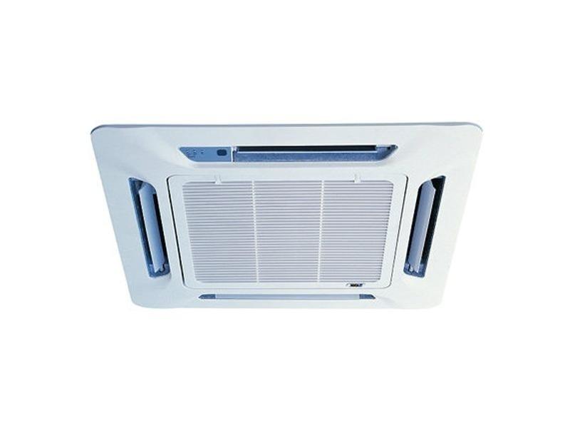 Кассетный кондиционер Daikin FFQN50CXV/RYN50CXV3.5 кВт - 12 BTU<br>Кассетный кондиционер от проверенного японского производителя Daikin FFQN50CXV/RYN50CXV представляет собой высокотехнологичное устройство, которое гарантирует эффективное кондиционирование воздуха, создание внутри помещения комфортной температуры за счет режима обогрева и охлаждения, что будет актуально в любой сезон. Предусмотрена система защиты от замерзания.<br>Особенности и преимущества кассетных кондиционеров Daikin серии FFQN-CX/RYN-CX:<br><br>Четырехстороннее равномерное распределение воздуха<br>Режим плавающих жалюзи (автосвинг)<br>Управление мощностью и направлением воздушного потока<br>Работа на охлаждение и обогрев<br>Автоматическое поддержание заданной температуры<br>Наличие ночного режима<br>Наличие режимов вентиляции и осушения<br>Мощный дренажный насос<br>Система самодиагностики неполадок<br>Система запоминания настроек<br>Система защиты от замерзания<br>Пульт ДУ<br>Наличие таймера включения/выключения<br>Компактная и привлекательная лицевая панель<br><br>Кассетные кондиционеры Daikin серии FFQN-CX/RYN-CX   это безупречные в своем стилистическом решении и высокоэффективные в работе устройства, которые помогут вам организовать в необходимых коммерческих помещениях оптимальные климатические условия, комфортные для любого человека. Приборы имеют скрытую установку и гарантируют равномерное распределение воздуха. <br><br>Страна: Япония<br>Площадь, м?: 50<br>Охлаждение, кВт: 5,1<br>Обогрев, кВт: 5,1<br>Компрессор: Не инвертор<br>Расход воздуха, мsup3;/ч: 756<br>Осушение, л/час: 756<br>Длина трассы, м: 15<br>Режимы работы: холод / тепло<br>Режим приточной вентиляции: Нет<br>Сенсор движения: Нет<br>Фильтры тонкой очистки воздуха: Нет<br>Уровень шума внеш/внутр.б., Дба: 52/37<br>Габариты внут. блока, ВШГ: 214x840x840<br>Габариты внеш. блока ВШГ: 651x855x328<br>Вес внутр. блока, Кг: 25<br>Вес внеш. блока, Кг: 47<br>Гарантия: 3 года
