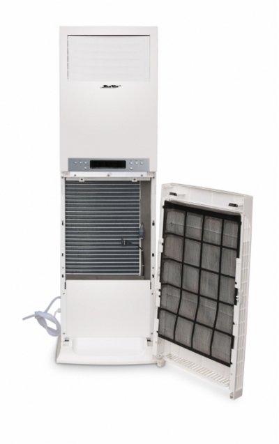 Колонный осушитель для бассейна DanVex DEH-1700p90 литров<br>Колонный осушитель воздуха DanVex DEH-1700p   это прибор, который можно использовать для бассейна, для производства и для других помещений, площадью до 150 квадратных метров. Модель имеет в конструкции сменный воздушный фильтр. <br><br>Страна: Финляндия<br>Производитель: None<br>Площадь, м?: 150<br>Осушение, л/с: 163<br>Емкость бака, л: 7,0<br>Отвод дренажа: Сбор в бак<br>Уровень шума,  Дба: None<br>Мощность, Вт: 165<br>Гигростат: Да<br>Гигрометр: Да<br>Габариты ВхШхГ, см: 179x47x56,5<br>Вес, кг: 84<br>Гарантия: 2 года<br>Ширина мм: 470<br>Высота мм: 1790<br>Глубина мм: 565