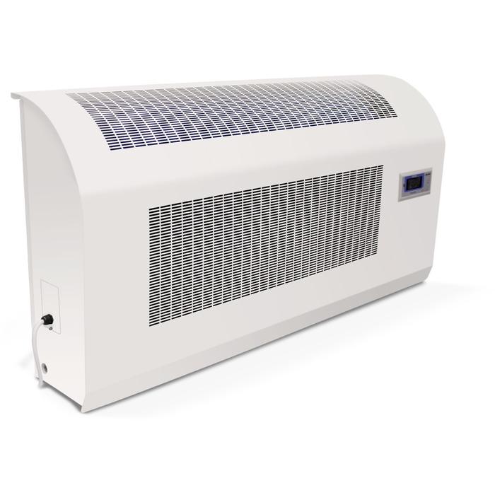 Настенный осушитель DanVex DEH-2000wp&gt; 100 литров<br>Конденсационный осушитель воздуха Danvex DEH-2000WP быстро создаст комфортный микроклимат в помещении. Производитель полностью гарантирует безотказную и продолжительную эксплуатацию прибора. Несмотря на то, что прибор промышленный, его можно использовать для квартиры, например, для ванной комнаты. <br><br>Страна: Финляндия<br>Производитель: Финляндия<br>Осушение л\сутки: 204<br>Производительность, мsup3;/ч: 900<br>Функция обогрева: Нет<br>Отвод конденсата: Дренажная трубка<br>Емкость бака, л: None<br>Хладагент: R407C<br>Корпус: пластик<br>Уровень шума, Дба: 56<br>Мощность, Вт: 2200<br>Напряжение, В: 220 В<br>Установка: Настенная<br>Размер ВхШхГ,см: 78x136x27<br>Вес, кг: 98<br>Гарантия: 1 год