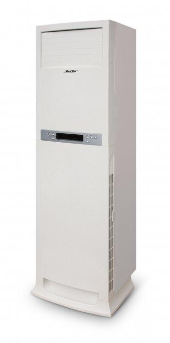 Осушитель воздуха DanVex DEH - 1200p90 литров<br>Осушитель воздуха DanVex (Данвекс) DEH - 1200p, оснащённый жидкокристаллическим дисплеем, способен максимально быстро убрать лишнюю влагу из воздуха и поддержать заданный уровень влажности, при достижении которого прибор самостоятельно отключается с целью экономии энергии, для удобства использования оснащён пультом дистанционного управления, при помощи 2-х встроенных колёс может быть легко перемещён в другое помещение.<br>Особенности и преимущества:<br><br>Работа по принципу конденсации<br>Автоматический режим (отключается при достижении заданной влажности)<br>Экономичность<br>ЖК дисплей для проверки функций системы<br>Пульт ДУ<br>Бесперебойный регулируемый гигростат<br>Тихий вентилятор, не требующий обслуживания<br>Корпус из высокопрочной пластмассы<br>Силовой кабель со штекером<br>Напольная установка без специальных приспособлений<br>Простота транспортировки  Легкость управления и эксплуатации<br>Компактность<br><br>Осушители воздуха DanVex серии DEH идеально подойдут для небольшого бассейна, сауны, ванной комнаты и любого другого помещения, в котором возникает необходимость длительного поддержания низкой влажности воздуха.<br><br>Страна: Финляндия<br>Производитель: Финляндия<br>Площадь, м?: None<br>Осушение, л/с: 108<br>Емкость бака, л: None<br>Отвод дренажа: Сбор в бак<br>Уровень шума,  Дба: 48<br>Мощность, Вт: 1300<br>Гигростат: Да<br>Гигрометр: Да<br>Габариты ВхШхГ, см: 179x56,5x47<br>Вес, кг: 70<br>Гарантия: 2 года<br>Ширина мм: 565<br>Высота мм: 1790<br>Глубина мм: 470