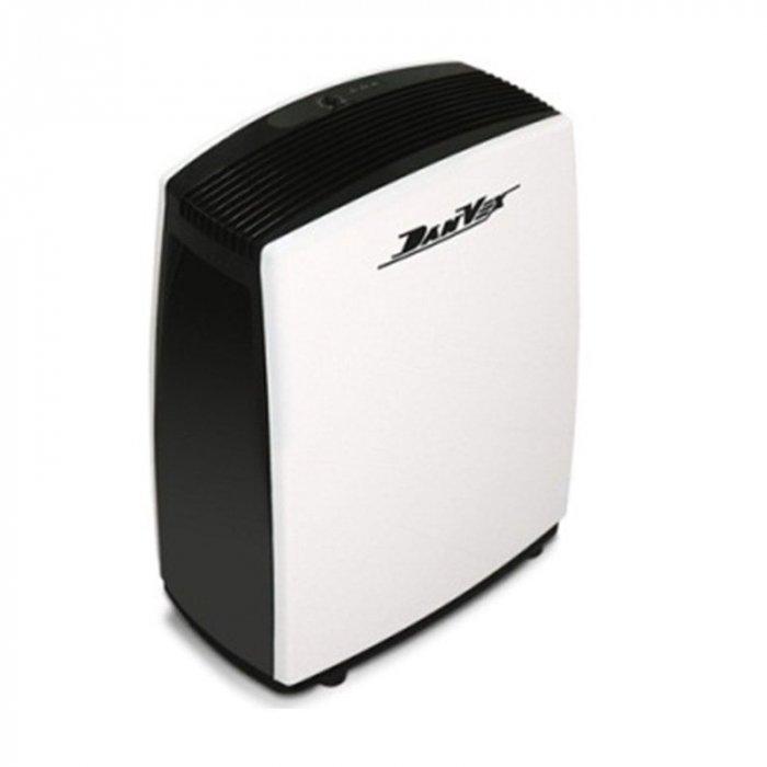 Осушитель воздуха DanVex DEH - 400p40 литров<br>Бытовой осушитель воздуха DanVex (Данвекс) DEH - 400p предназначен для осушения воздуха в производственных помещениях, складах, подвалах, прачечных и др. Прибор оснащен надежным встроенным гигростатом, переливной системой и емкостью для конденсата на 7 литров. Автоматическая система управления гарантирует бесперебойную работу этого прибора в течение долгих лет.<br>Преимущества: <br><br>Корпус из высокопрочной пластмассы.<br>Автоматический режим.<br>Емкость для конденсата 7 литров.<br>Возможность внешнего дренажа.<br>Встроенный гигростат<br>автоматическая, универсальная и бесперебойная осушка воздуха.<br><br>Осушители фирмы DanVex используются для снижения и поддержания уровня влажности воздуха. Принцип работы данного осушителя заключается в том, что излишне влажный воздух посредством вентилятора засасывается в холодный, а затем и горячий теплообменники. На холодном теплообменнике температура проходящего воздуха понижается и собирается все в виде конденсата, который стекает в строенный бак. На горячем же теплообменнике температура воздуха вновь возвращается к прежнему температурному значению. Оснащен встроенным ЖК-дисплеем для индикации состояния прибора, а также удобными колесами для транспортировки.<br><br>Страна: Финляндия<br>Производитель: Финляндия<br>Площадь, м?: None<br>Осушение, л/с: 40<br>Емкость бака, л: 7<br>Отвод дренажа: Сбор в бак<br>Уровень шума,  Дба: None<br>Мощность, Вт: 700<br>Гигростат: Да<br>Гигрометр: Нет<br>Габариты ВхШхГ, см: 48x63x30<br>Вес, кг: 20<br>Гарантия: 2 года<br>Ширина мм: 630<br>Высота мм: 480<br>Глубина мм: 300