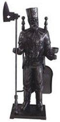Каминный набор Royal Flame T807BKАксессуары<br>Классический декоративный набор Royal Flame T807BK для электрического камина Royal Flame   это изящное украшение, которое дополнит образ любого камина   углового и фронтального, с порталом или без него. Данное изделие представляет собой статуэтку, выполненную в черном цвете, тонко выполненную в мельчайших деталях. Такое украшение непременно подчеркнет стиль вашего камина и интерьера в целом.<br><br>Страна: Ирландия<br>Цвет: Черный<br>Габариты ВхШхГ,мм: 590x225x225<br>Вес, кг: 1<br>Гарантия: 1 год<br>Ширина мм: 225<br>Высота мм: 590<br>Глубина мм: 225