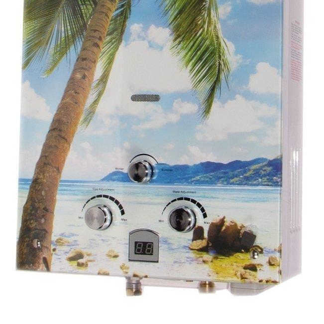 Водонагреватель ETALON Y 10 GI (Пальма)16-21 кВт<br>Уникальный дизайн и производительность являются главными преимуществами газового водонагревателя проточного типа Etalon Y 10 GI (Пальма). Модель оборудована системой электронного розжига от батареек, что обеспечивает автоматическое включение и выключение колонки. Замена батареек не занимает много времени и не требует особых навыков.<br>Особенности и преимущества:<br><br>Усиленный луженый теплообменник;<br>Усиленный водогазовый узел;<br>Регулировка протока воды и объёма подачи газа;<br>Переключатель режимов &amp;laquo;зима/лето&amp;raquo; для экономии газа;<br>Белоснежный корпус RAL9016;<br>Индикатор температуры;<br>Электронный розжиг горелки;<br>Многоступенчатая система защиты;<br>Батарейки в комплекте.<br><br>Газовые колонки от бренда Etalon &amp;mdash; это разработка отечественного производителя, которая станет прекрасным выбором для использования в бытовых целях. Высокая производительность водонагревателей сочетается с экономичным потреблением газа, а стильный дизайн устройств эргономичен. Вместе с наличием прекрасной системы безопасности все это делает газовые колонки Etalon прекрасными представителями своего сегмента.<br><br>Страна: Россия<br>Производитель: Россия<br>Способ нагрева: Газовый<br>Производительность: 10<br>Темп. нагрева, С: None<br>Давление на входе: 0,25...8<br>Мощность, кВт: 20,0<br>Тип камеры: Открытая<br>Дисплей: Нет<br>Защита: Да<br>Установка: Настенная<br>Розжиг: Электророзжиг<br>Теплообменник: Медный<br>Модуляция мощности: Нет<br>Габариты ШхВхГ, см: 35,5x65x21<br>Вес, кг: 11<br>Гарантия: 1 год<br>Ширина мм: 355<br>Высота мм: 650<br>Глубина мм: 210