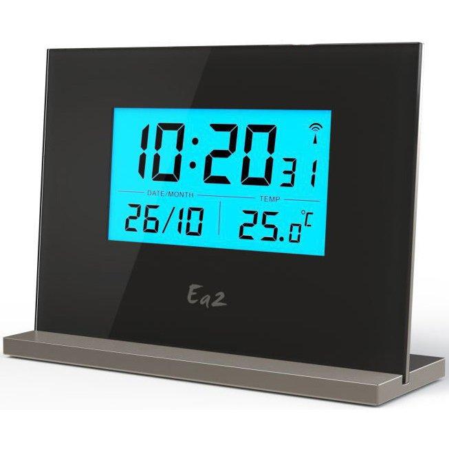 Настольные проекционные часы Ea2 EN206Красная проекция<br>Настольные часы с метеостанцией Ea2 EN206   это стильное, функциональное и современное устройство, поставляющееся в комплекте с температурным датчиком. Электронные часы с проекцией могут перенести информацию, выведенную на дисплее, на стену или же на потолок, если расстояние между поверхностью и самим устройством не слишком большое. Данные об актуальной температуре также отображаются на дисплее.<br><br>Страна: Китай<br>Питание, В: Батарейки<br>Тип батарейки: ААА<br>Колво батареек: 2<br>Адаптер к 220В: Нет<br>С будильником: Да<br>Радиодатчик: None<br>С метеостанцией: Да<br>В помещении t, С: Да<br>За окном t, С: Да<br>Влажность в помещении: Нет<br>Влажность за окном: Нет<br>Давление: Нет<br>Прогноз погоды: Нет<br>Габариты, мм: 158x87x48<br>Вес, кг: 1<br>Гарантия: 1 год<br>Ширина мм: 87<br>Высота мм: 158<br>Глубина мм: 48