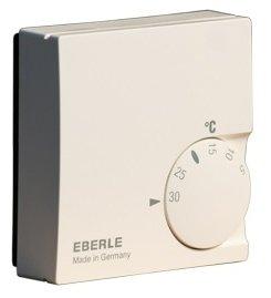 Инфракрасный обогреватель Eberle RTR-E 6121Аксессуары<br>Eberle RTR-E 6121 представляет собой модель терморегулятора, которая предназначена для совместной работы с инфракрасными обогревателями производства компании Алмак. На корпусе прибора имеется удобный дисковый термостат с указанием температуры воздуха, достигаемой при работе обогревателя на данном уровне мощности. Благодаря компактному размеру и невероятно малому весу прибора Вы можете легко и быстро установить его на стене в любом удобном для Вас месте.<br><br>Страна: Германия<br>Тип установки: Настенная<br>Мощность, кВт: None<br>Габариты, мм: 75x75x25<br>Гарантия: 1 год<br>Вес, кг: 1<br>Ширина мм: 75<br>Высота мм: 75<br>Глубина мм: 25