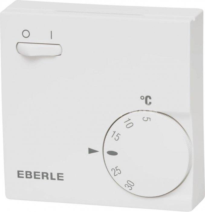 Инфракрасный обогреватель Eberle RTR-E 6163 с выключателем newАксессуары<br>Модель термостата Eberle RTR-E 6163 с выключателем new предназначена для совместной работы с инфракрасными обогревателями. Данный прибор позволяет управлять тепловой производительностью отопительного оборудования, а также дистанционно включать и выключать обогреватель. Корректировать интенсивность нагрева обогревателя Вы можете при помощи удобного вращающегося терморегулятора. Данный термостат имеет современный дизайн и компактный размер, позволяющий его установить в стандартной панели розетки или выключателя. <br><br>Страна: Германия<br>Тип установки: Настенная<br>Мощность, кВт: None<br>Габариты, мм: 75x75x25<br>Гарантия: 1 год<br>Вес, кг: 1<br>Ширина мм: 75<br>Высота мм: 75<br>Глубина мм: 25
