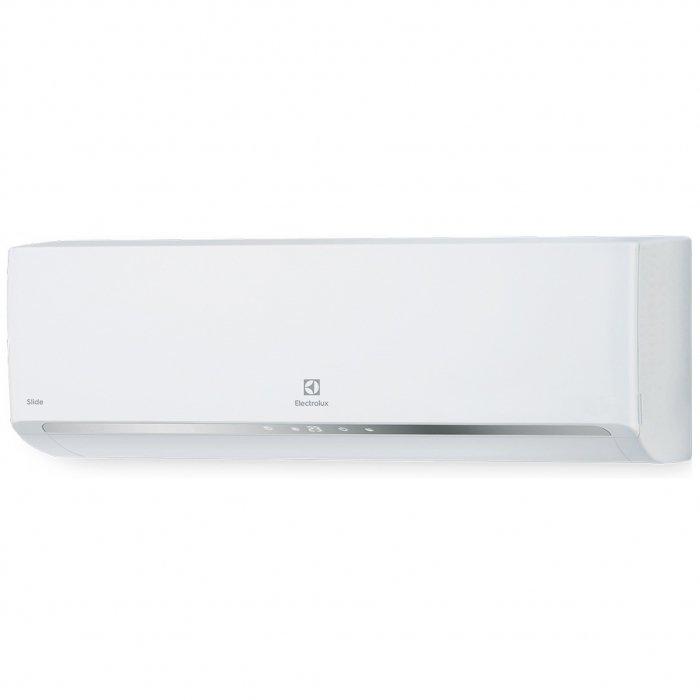 Настенный кондиционер Electrolux EACS - 07HSL/N320 м? - 2 кВт<br>Electrolux (Электролюкс) EACS - 07HSL/N3 &amp;ndash; эксклюзивная новинка, которая поможет организовать комфортные климатические условия в любом доме. Модель способна работать на обогрев и охлаждение воздуха, кроме того, предусмотрены режимы ночного и автоматического функционирования.&amp;nbsp; Для управления работой имеется удобный пульт ДУ с дисплеем.<br>Особенности рассматриваемой модели настенной сплит-системы:<br><br>Кондиционер быстро выходит на рабочую температуру, точно ее поддерживая, равномерно распределяет воздух по всему объему помещения.<br>Агрегат оснащен такими функциями, как самодиагностика, авторестарт, автоматическая разморозка и самоочистка, которые сделают использование максимально удобным.<br>Электростатический + LTC Фильтр<br>Автоматические горизонтальные и вертикальные жалюзи<br>&amp;nbsp;EER класс A<br>&amp;nbsp;Защита от перепадов напряжения<br>&amp;nbsp;Стабильная работа до -10<br><br>Предлагаем вашему вниманию абсолютно новую серию неинверторных систем кондиционирования воздуха&amp;nbsp; &amp;ndash; Slide on/off. Все кондиционеры семейства выполнены в стильном эргономичном дизайне, внутренние блоки с настенным вариантом монтажа, оснащены отключаемым дисплеем. Модели могут похвастать широким функционалом и максимальным комфортном в эксплуатации.<br><br>Горизонтальная регулировка потока: Нет<br>Страна бренда: Швеция<br>Уровень шума, дБа: None<br>Габариты ВхШхГ, см: 66x48,2x24<br>Производитель: Китай<br>Площадь, м?: 20<br>Вес, кг: 22<br>Компрессор: Не инвертор<br>Режим работы: холод/тепло<br>Уровень шума, дБа: 30<br>Охлаждение, кВт: 2,2<br>Габариты ВхШхГ, см: 71,5x25x18,8<br>Обогрев, кВт: 2,4<br>Потребление при охлаждении, кВт: 0,655<br>Вес, кг: 7<br>Потребление при обогреве, кВт: 0,610<br>Охлаждающая способность, тыс. BTU: 7<br>Диапазон t на охлаждение, С: +18...+43<br>Диапазон t на обогрев, С: 7...+24<br>Расход воздуха, м3/ч: 460<br>Хладагент: R410A<br>Max длина трассы, м: 15<